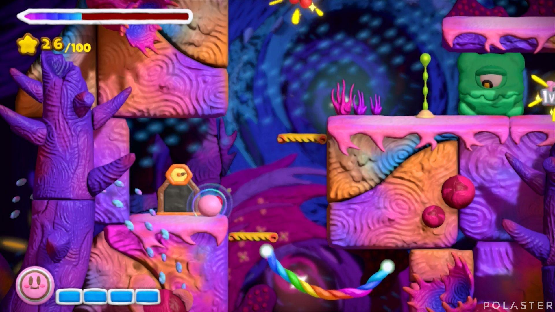Kirby y el Pincel Arcoíris: Nivel 7-3 Cofre 1