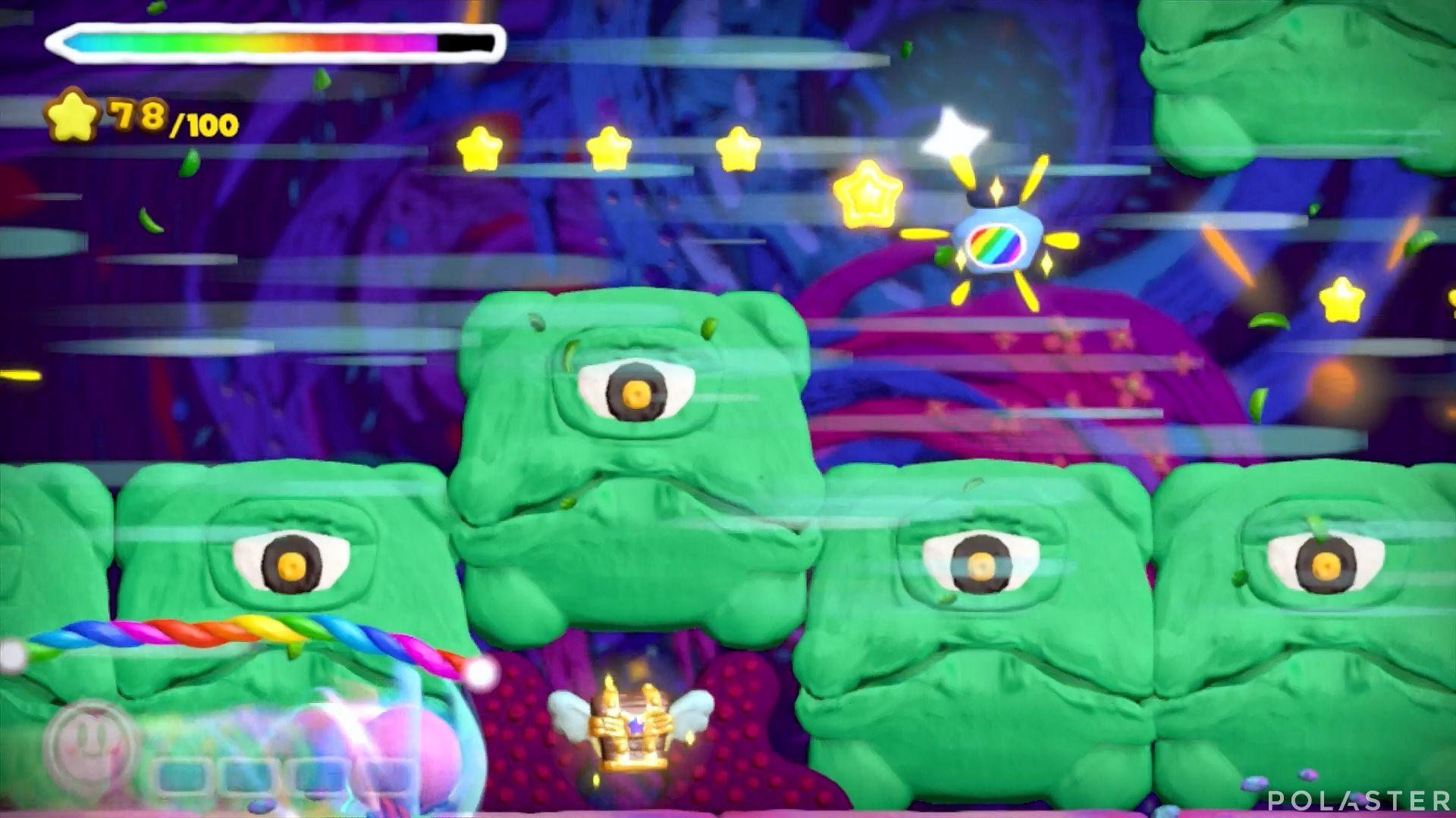 Kirby y el Pincel Arcoíris: Nivel 7-3 Cofre 5