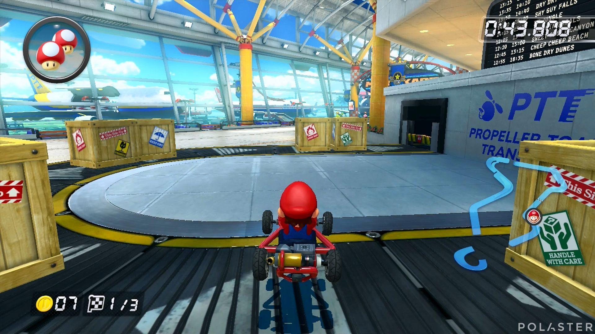 Mario Kart 8 - Aeropuerto Soleado