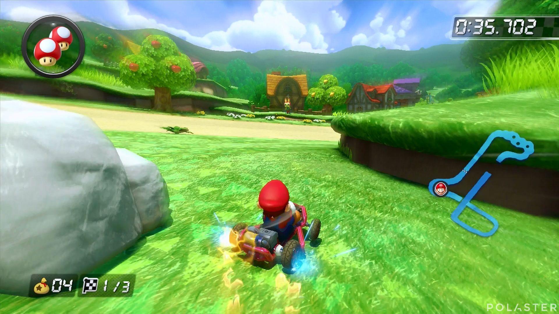Mario Kart 8 - Animal Crossing