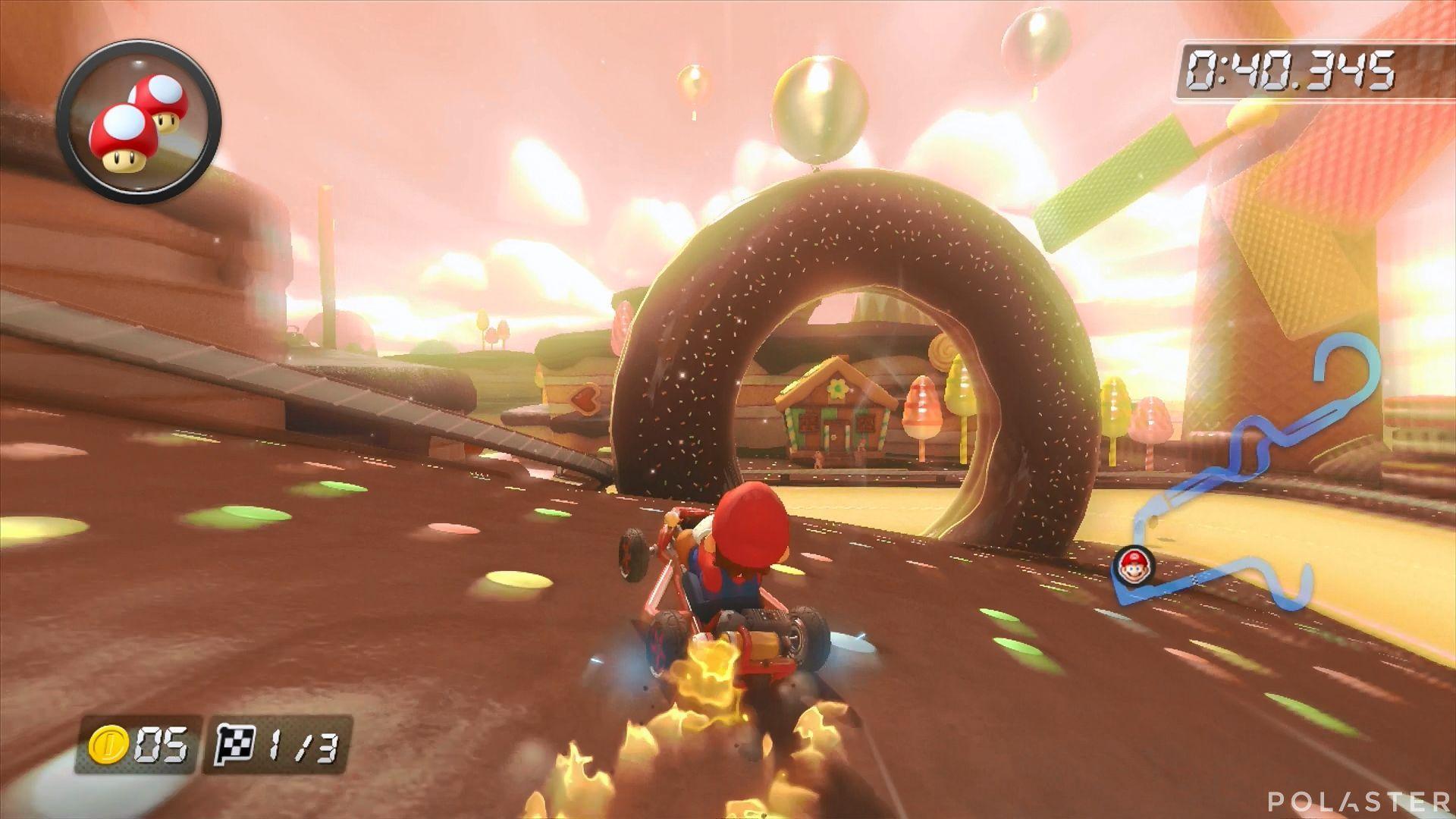 Mario Kart 8 - Barranco Goloso