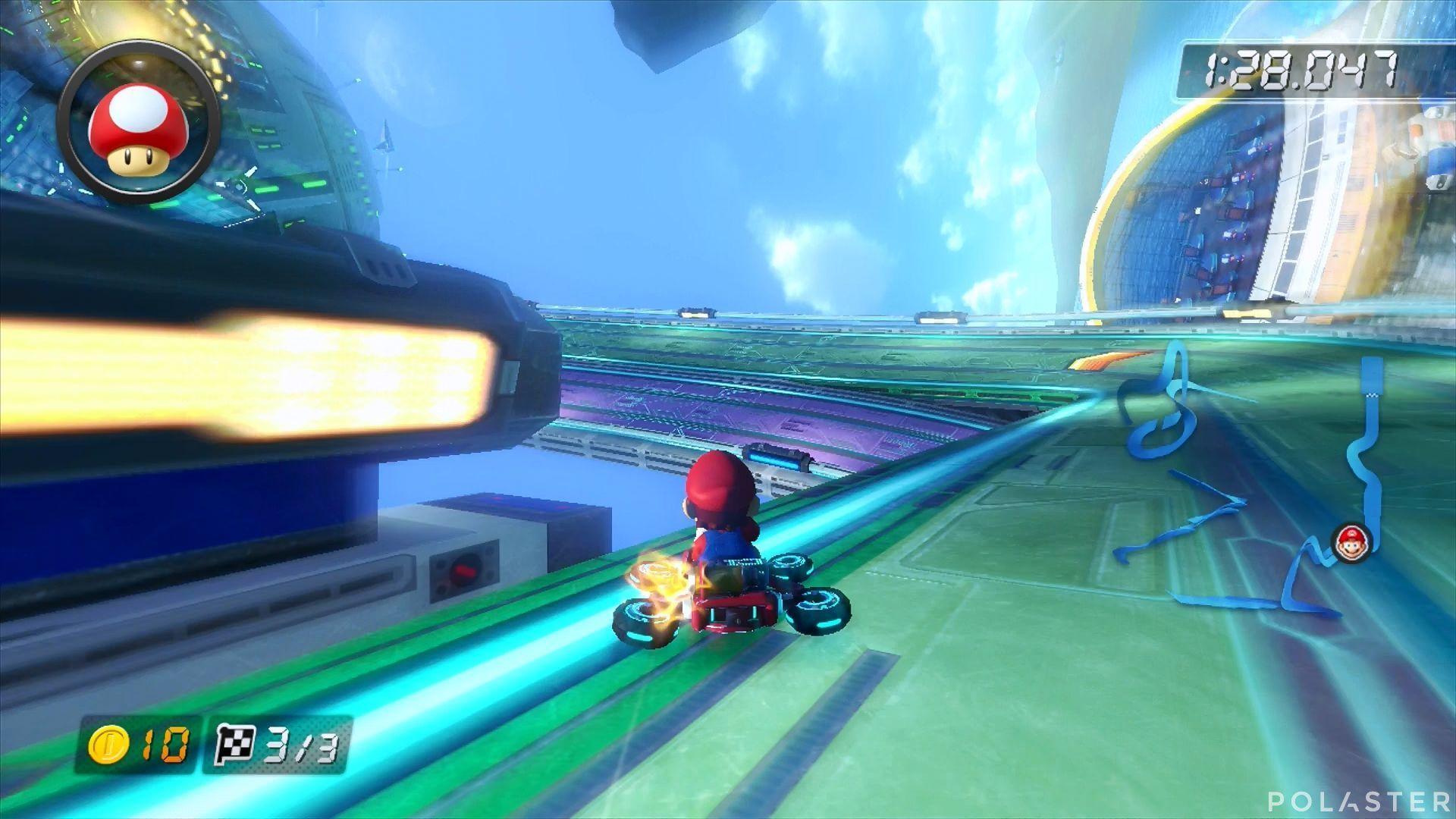 Mario Kart 8 - Big Blue