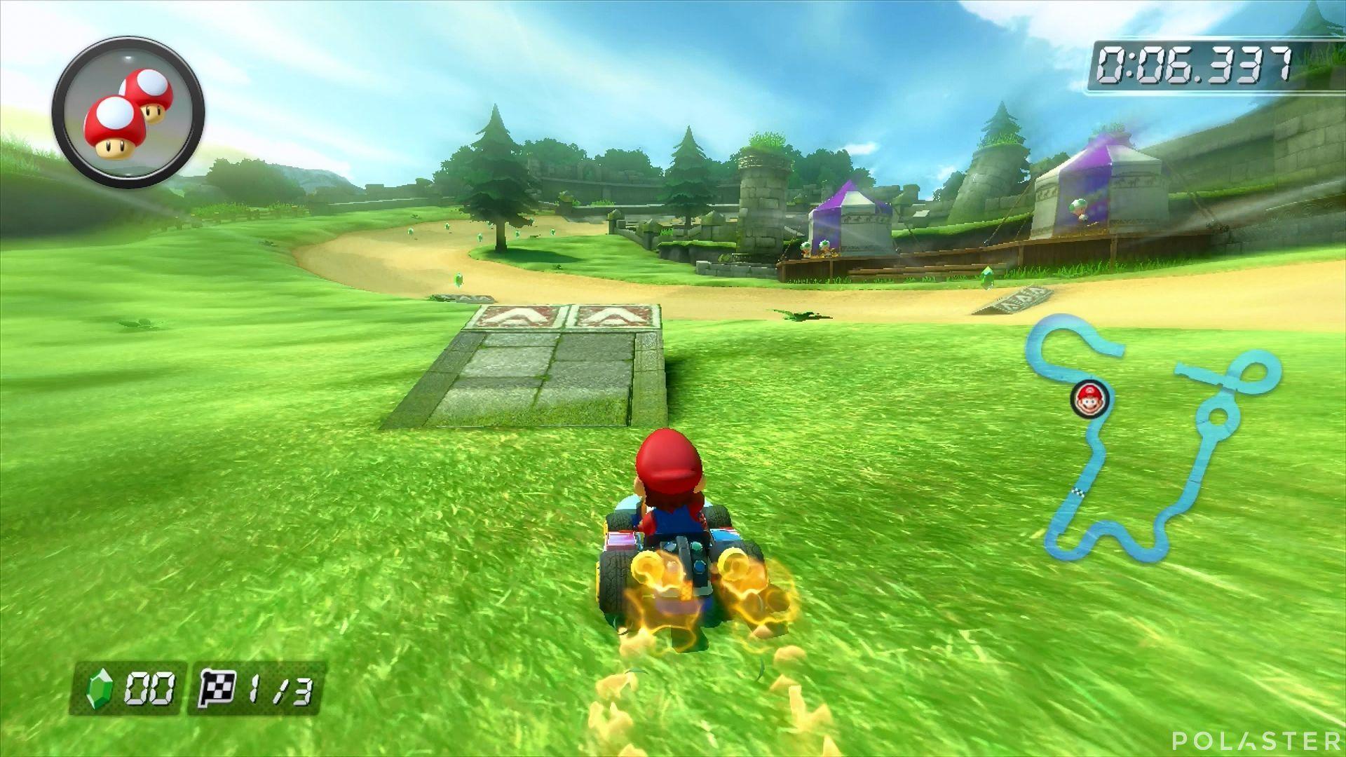 Mario Kart 8 - Circuito de Hyrule