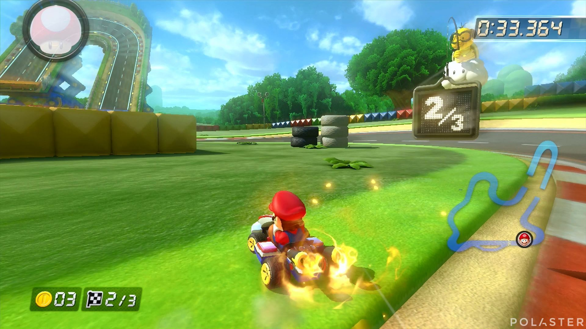 Mario Kart 8 - Circuito Mario