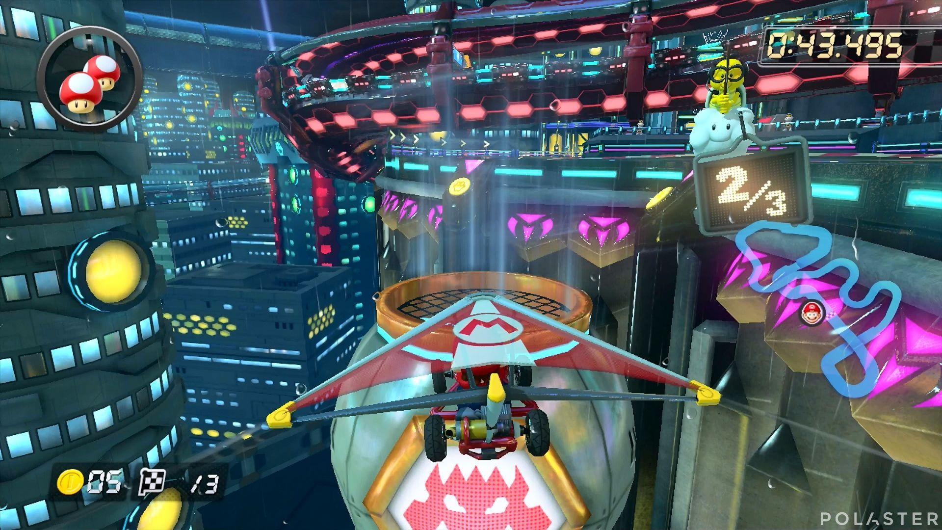 Mario Kart 8 - Ciudad Koopa