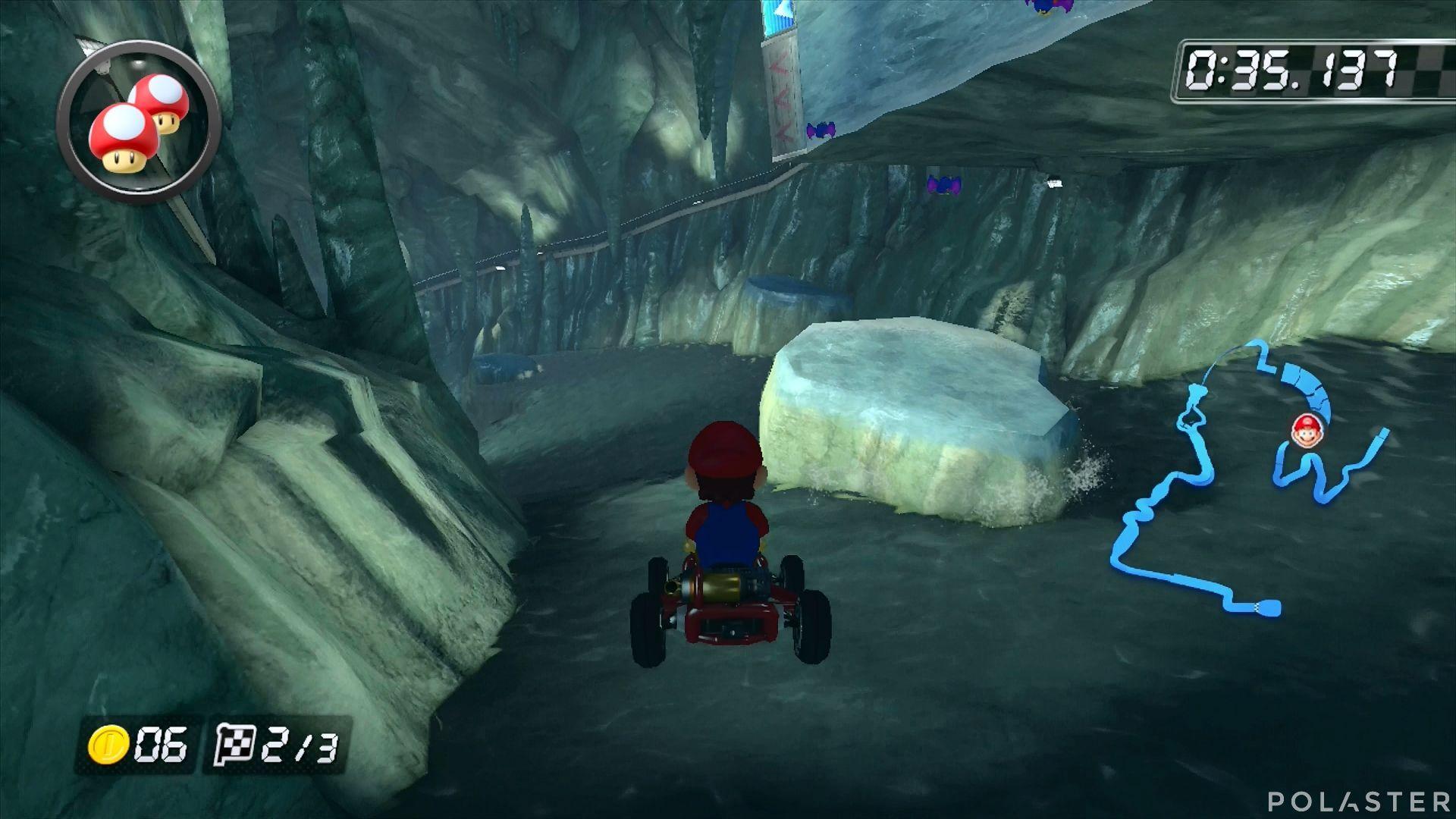 Mario Kart 8 - Cumbre Wario