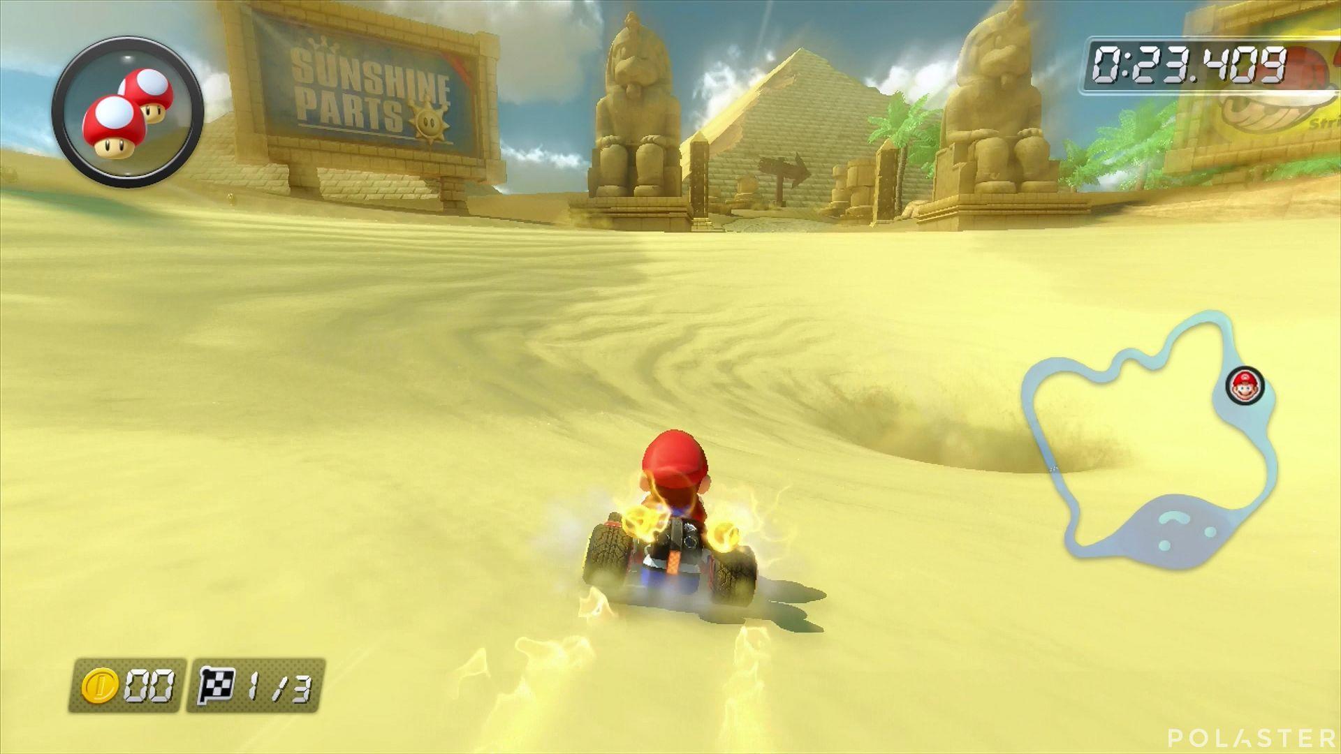 Mario Kart 8 - Desierto Seco-Seco