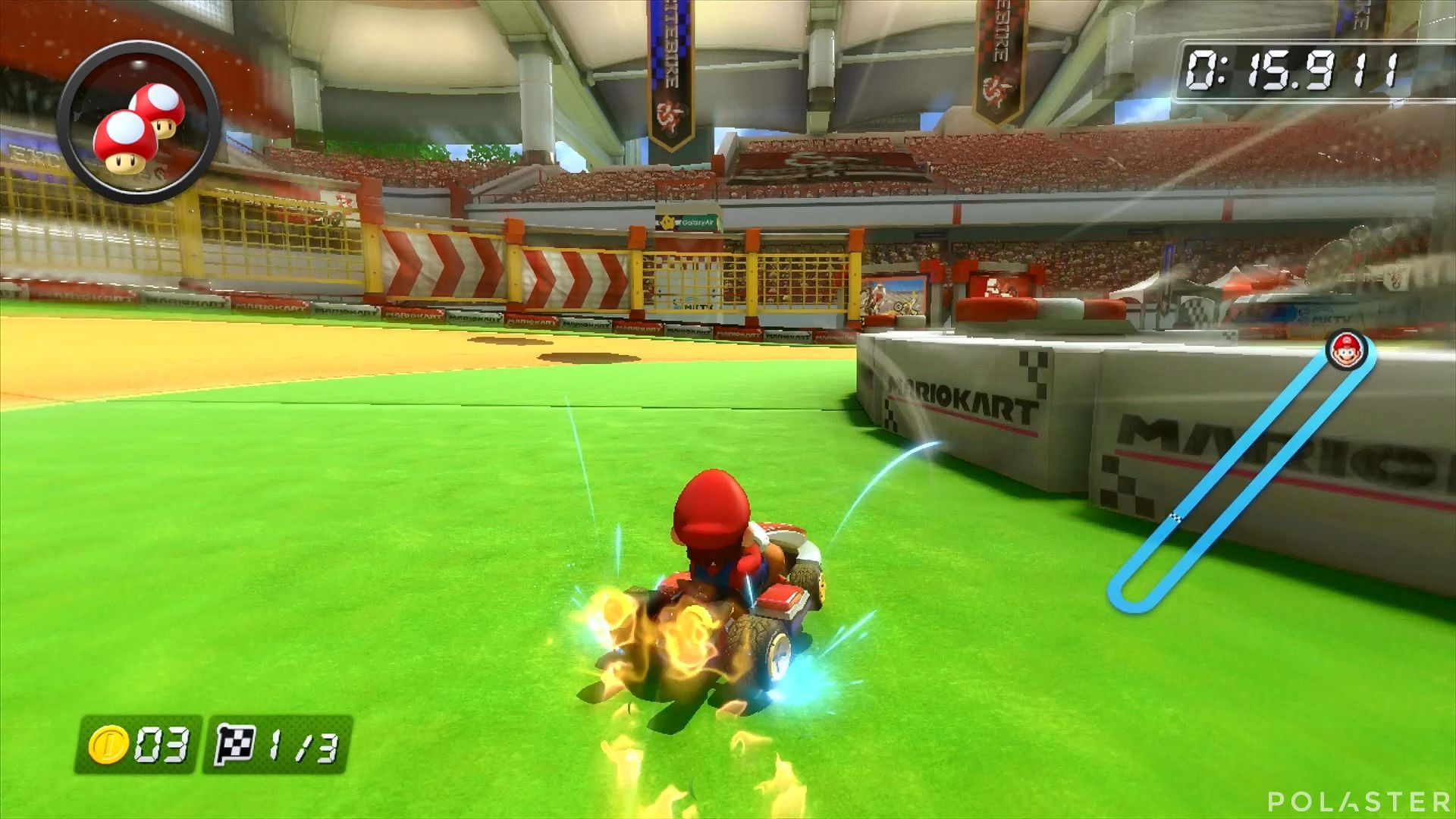 Mario Kart 8 - Estadio Excitebike