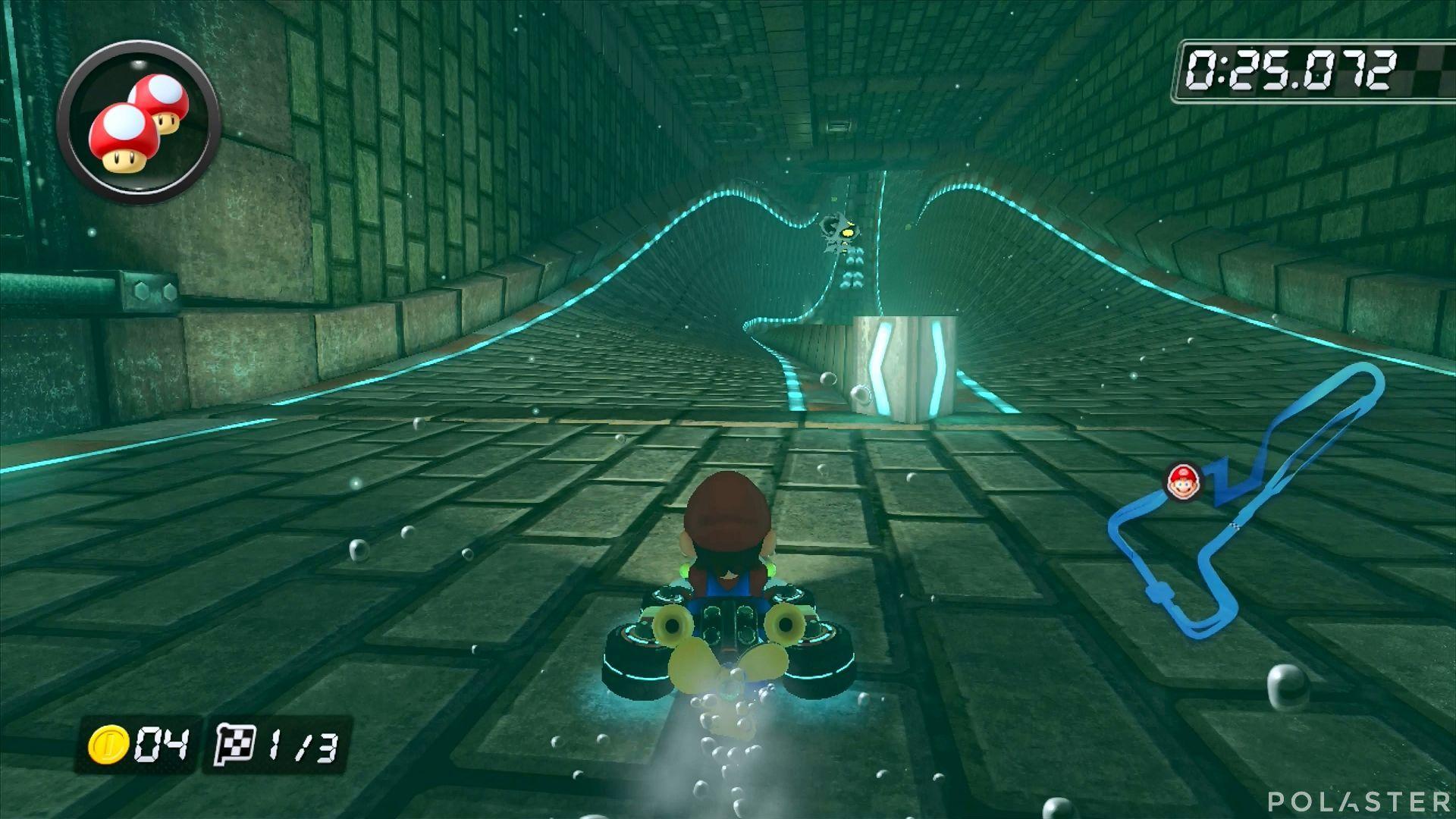 Mario Kart 8 - Mansión Retorcida