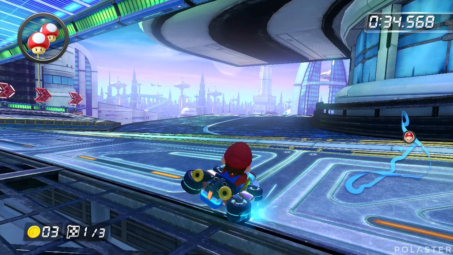 Mario Kart 8 - Mute City