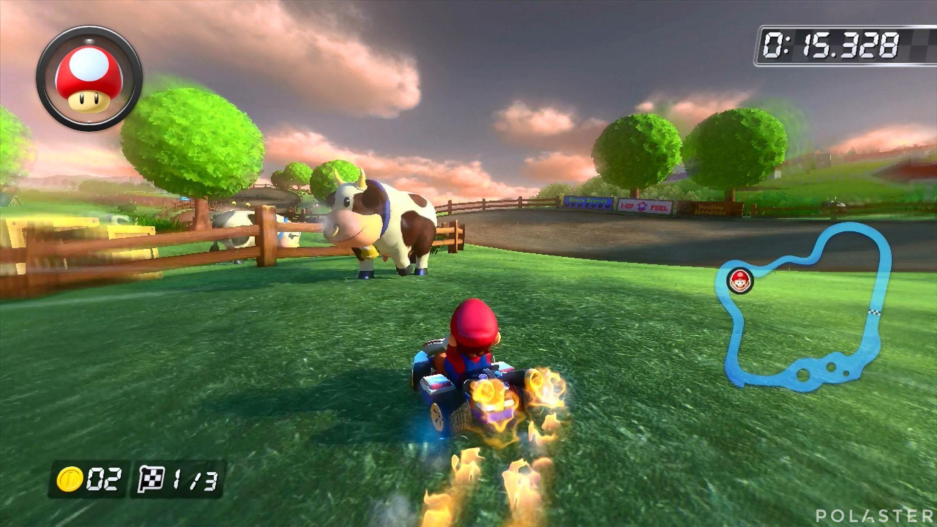 Mario Kart 8 - Pradera Mu-Mu