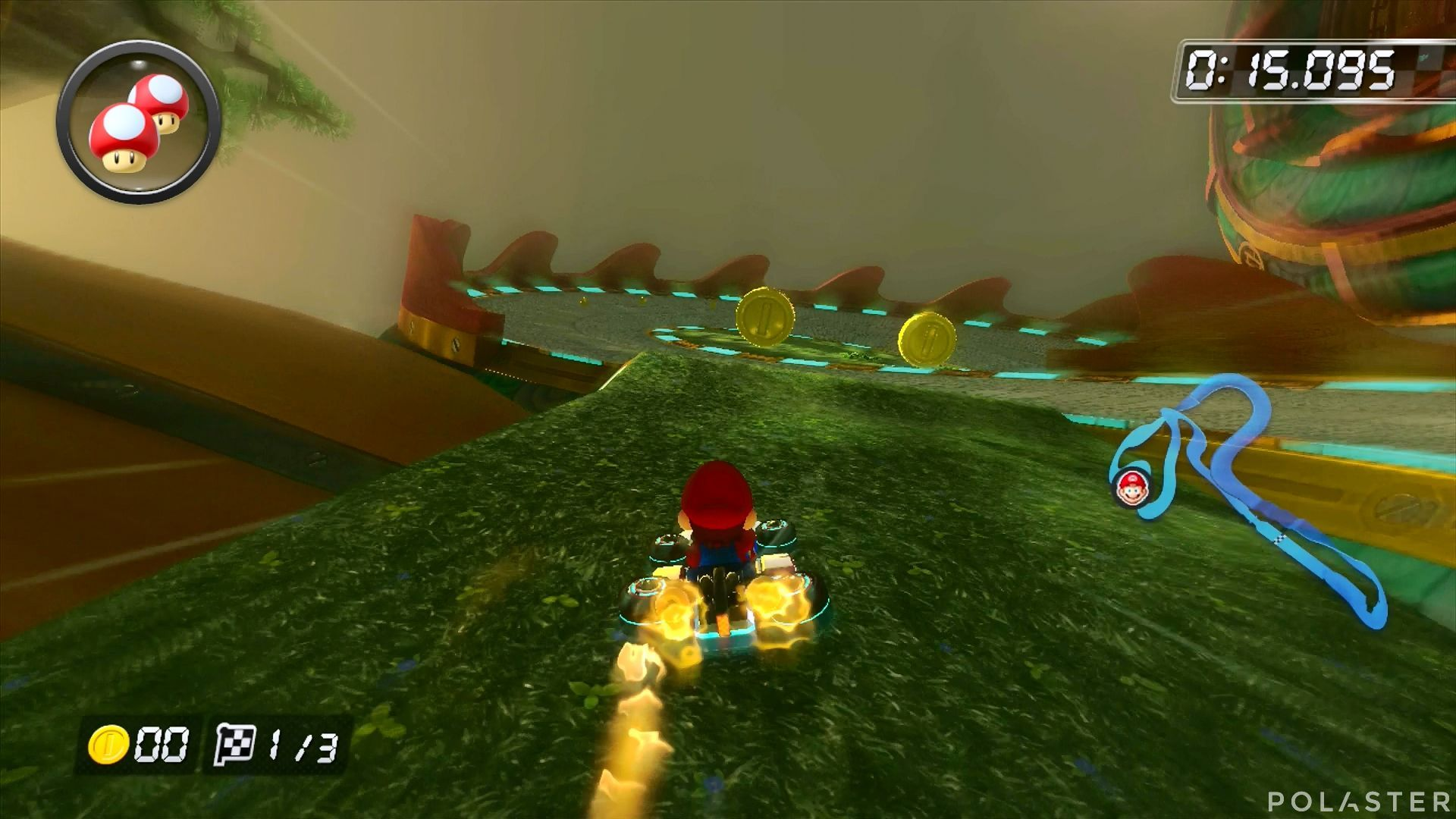 Mario Kart 8 - Ruta Dragón