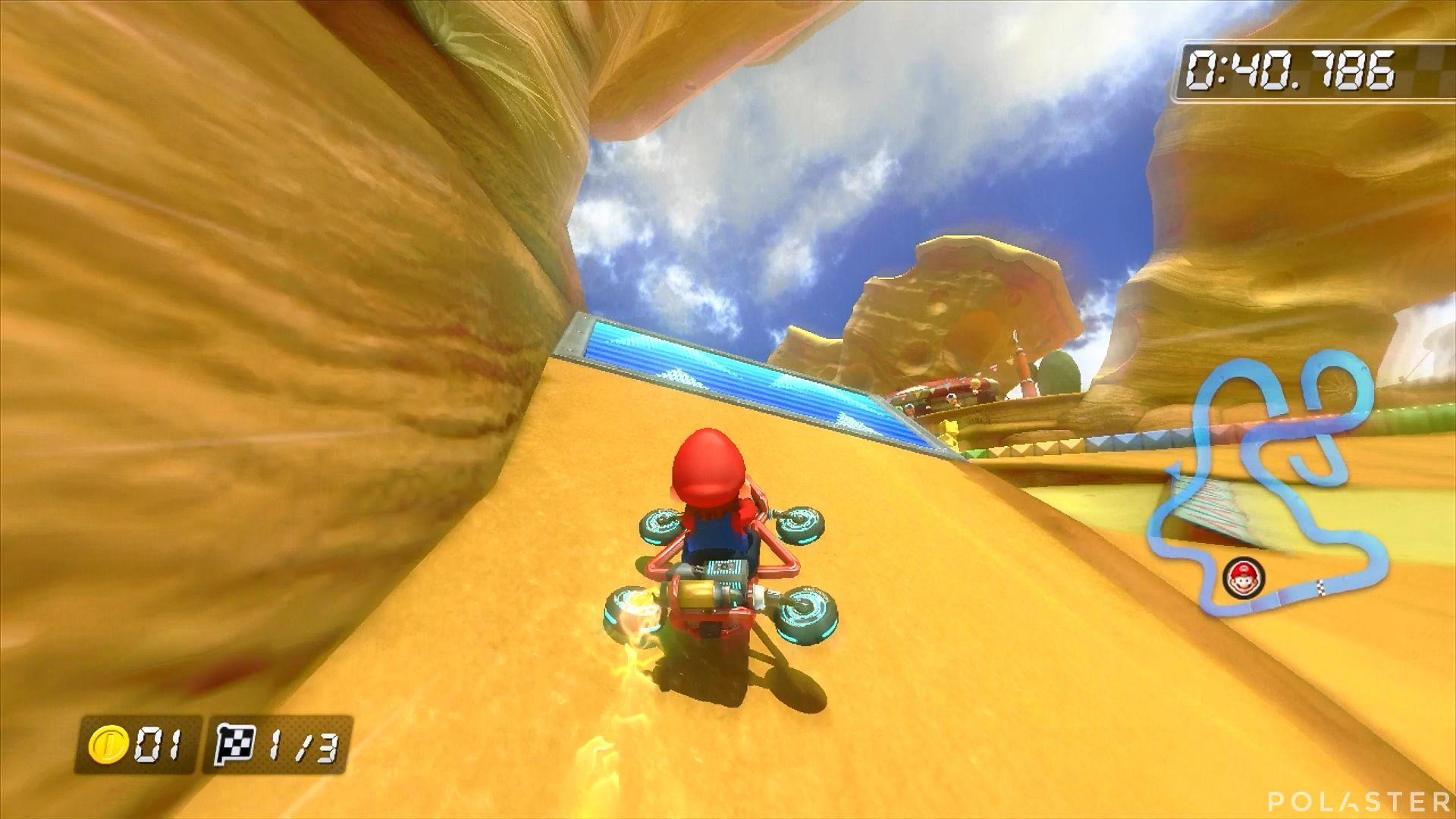 Mario Kart 8 - Tierra de Queso