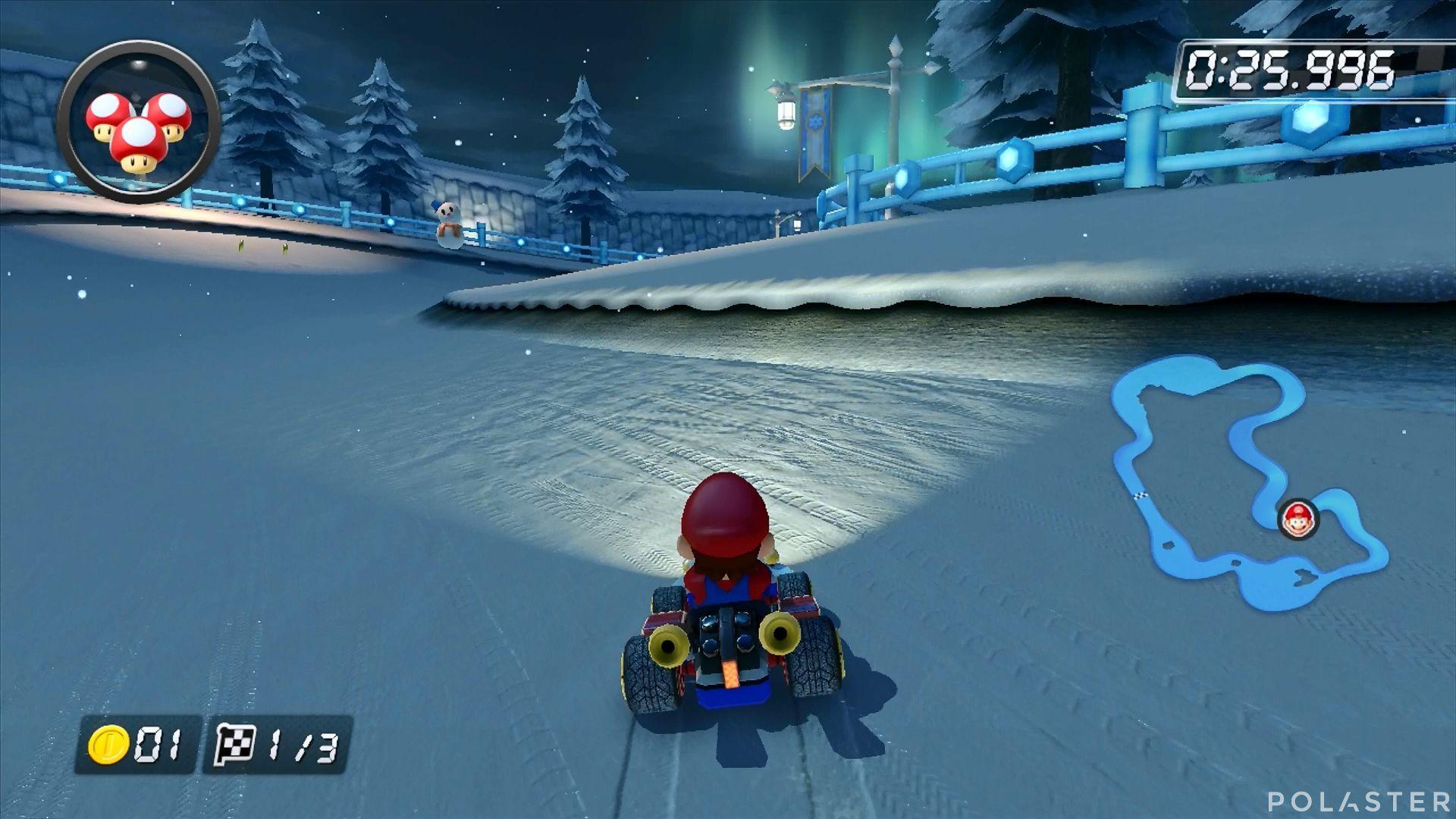 Mario Kart 8 - Tierra Sorbete