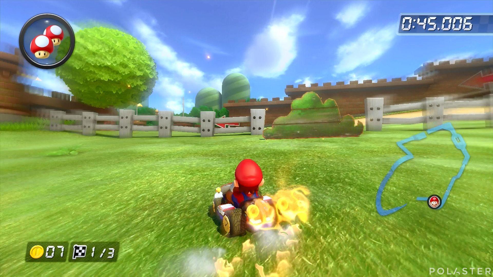 Mario Kart 8 - Tuberías Planta Piraña
