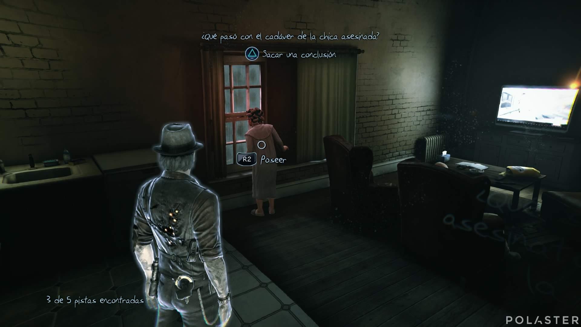 Murdered: Soul Suspect Casos opcionales Apartamento 1A Pista