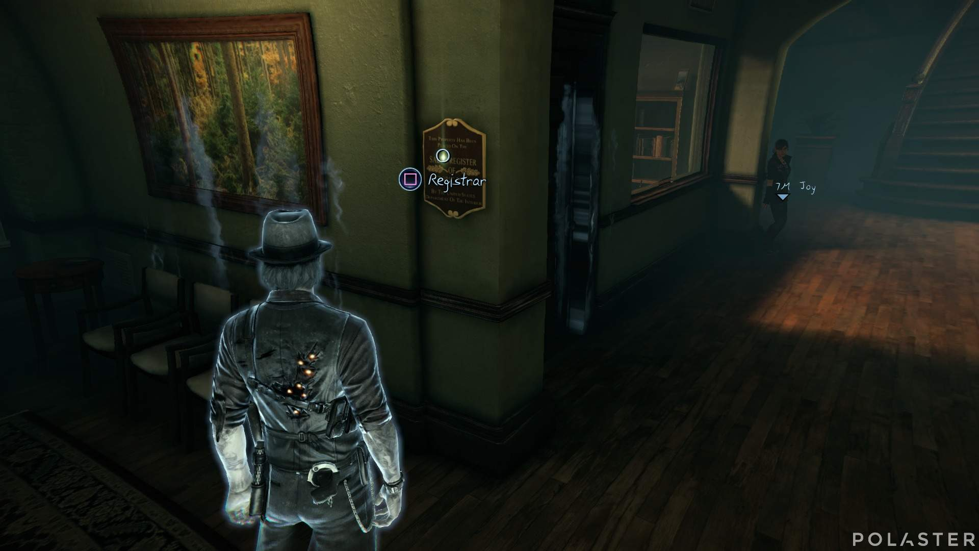 Murdered: Soul Suspect Coleccionable Placa dedicatoria del hospital psiquiátrico