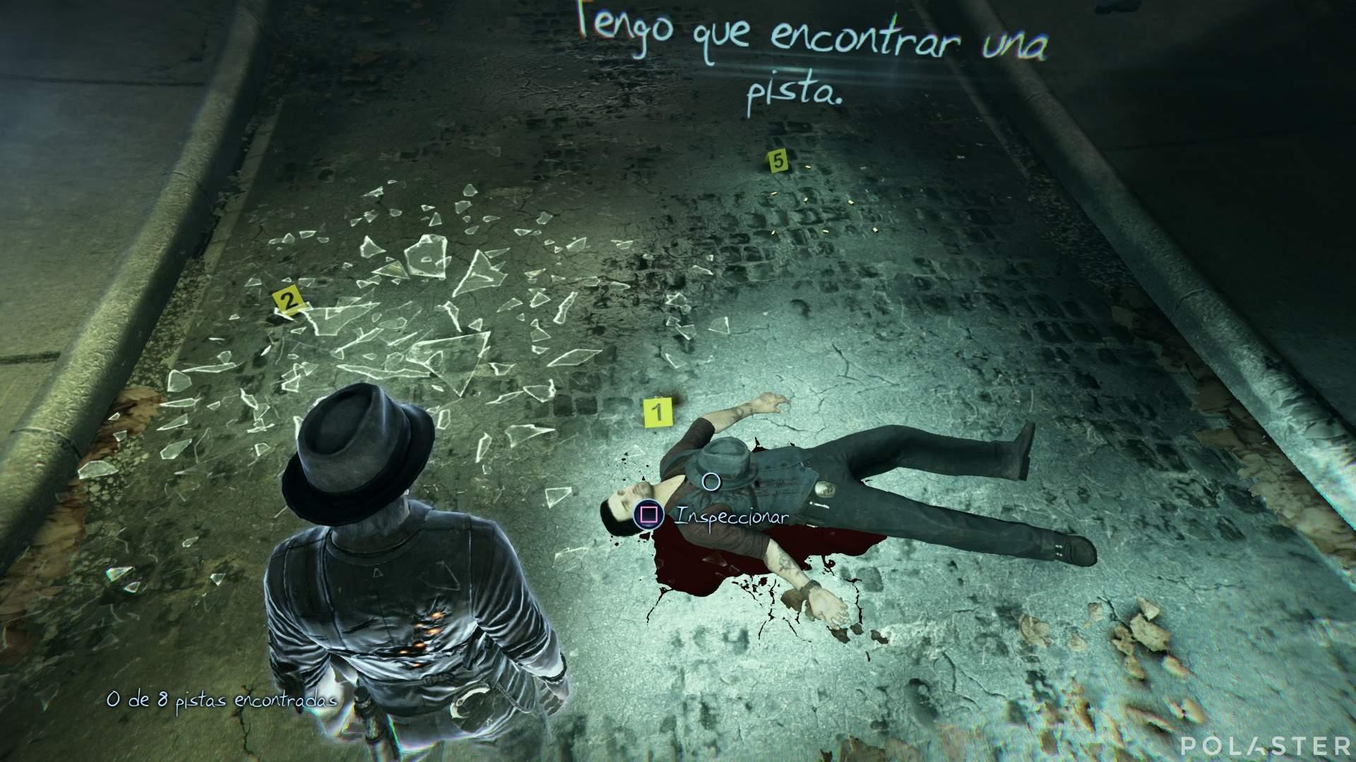 Murdered: Soul Suspect Prólogo Pista