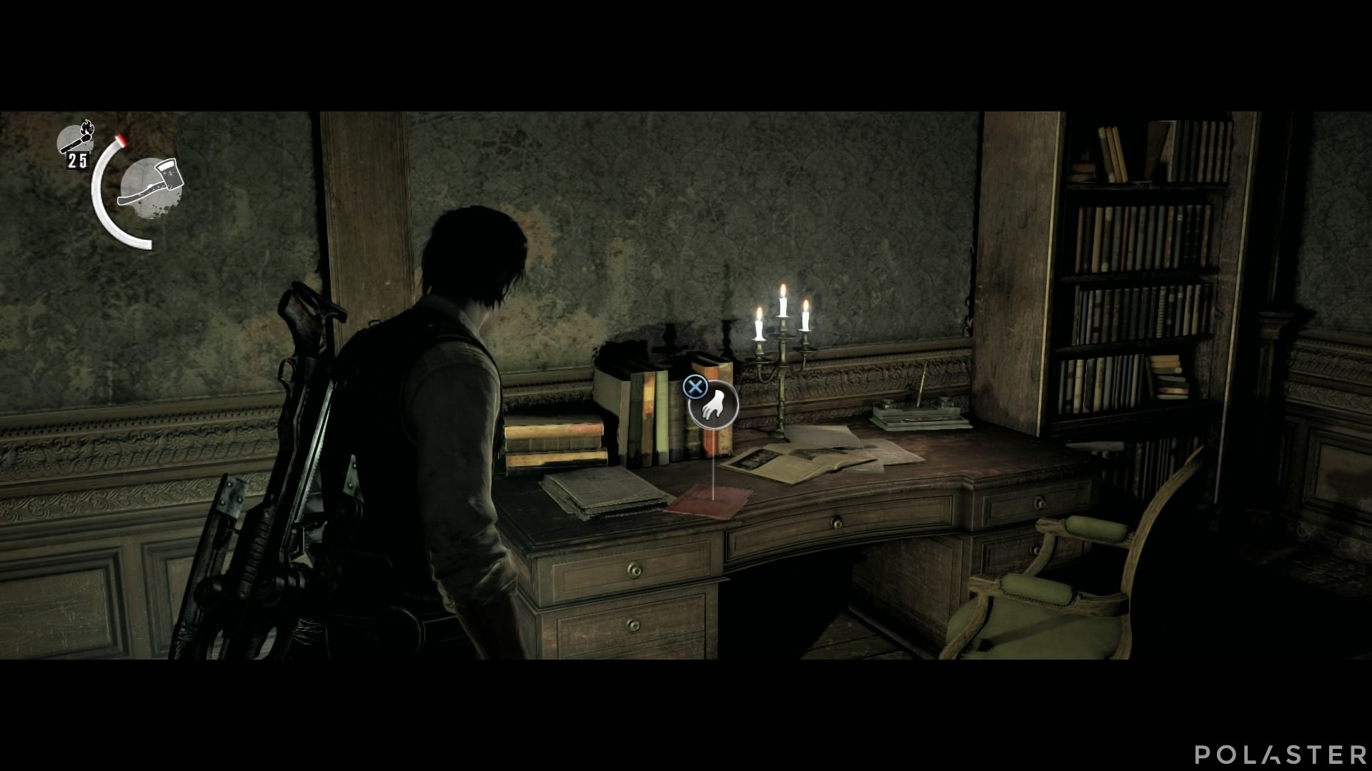 The Evil Within - Coleccionables - Documento: Nota de la habitación de Ruvik