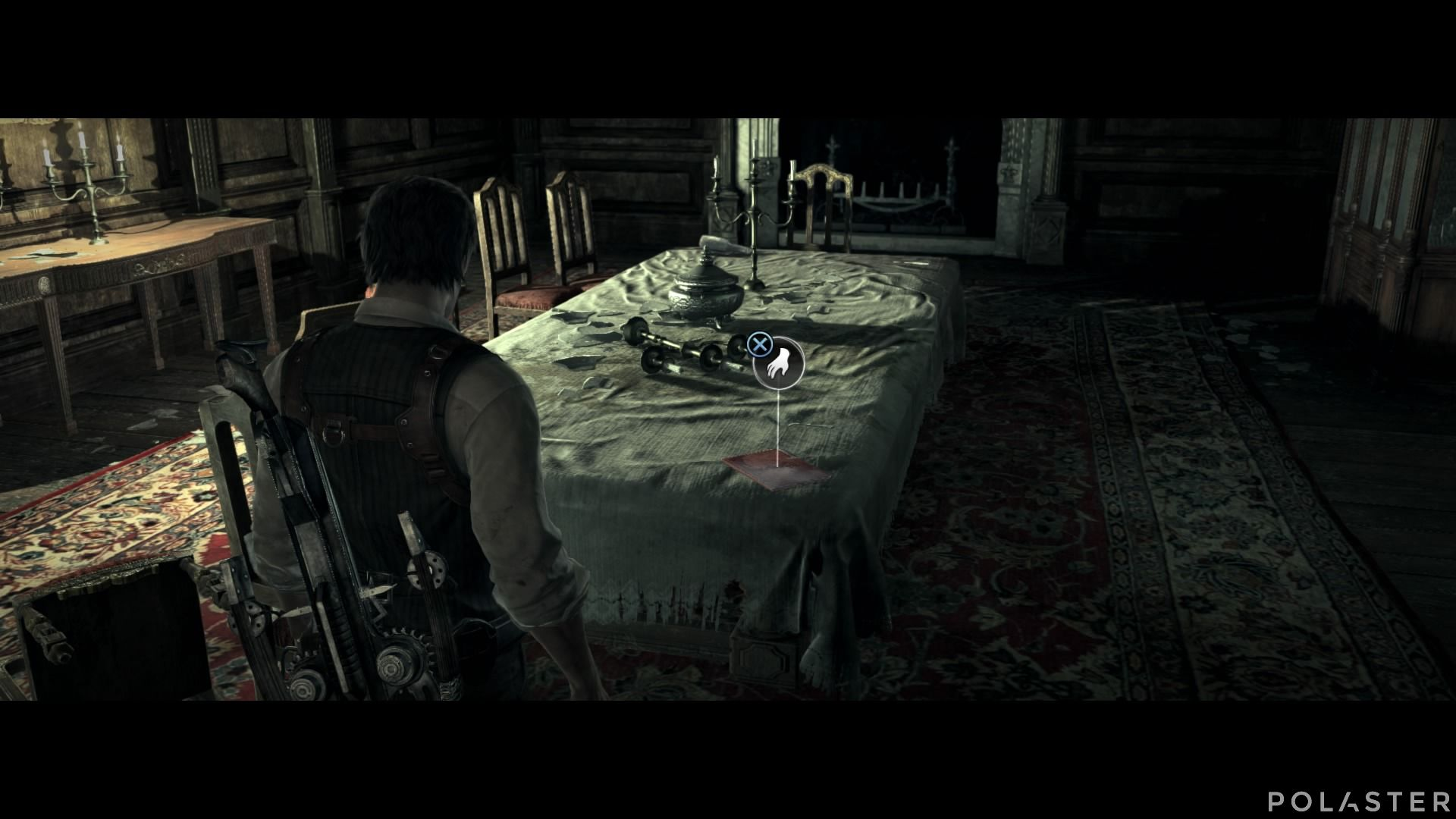 The Evil Within - Coleccionables - Documento: Nota del comedor