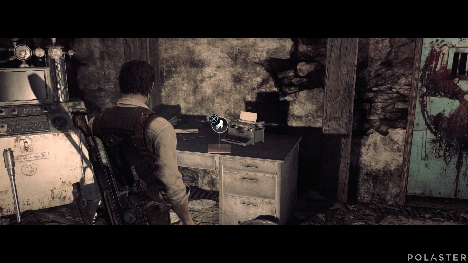 The Evil Within - Coleccionables - Documento: Nota del sótano de la mansión