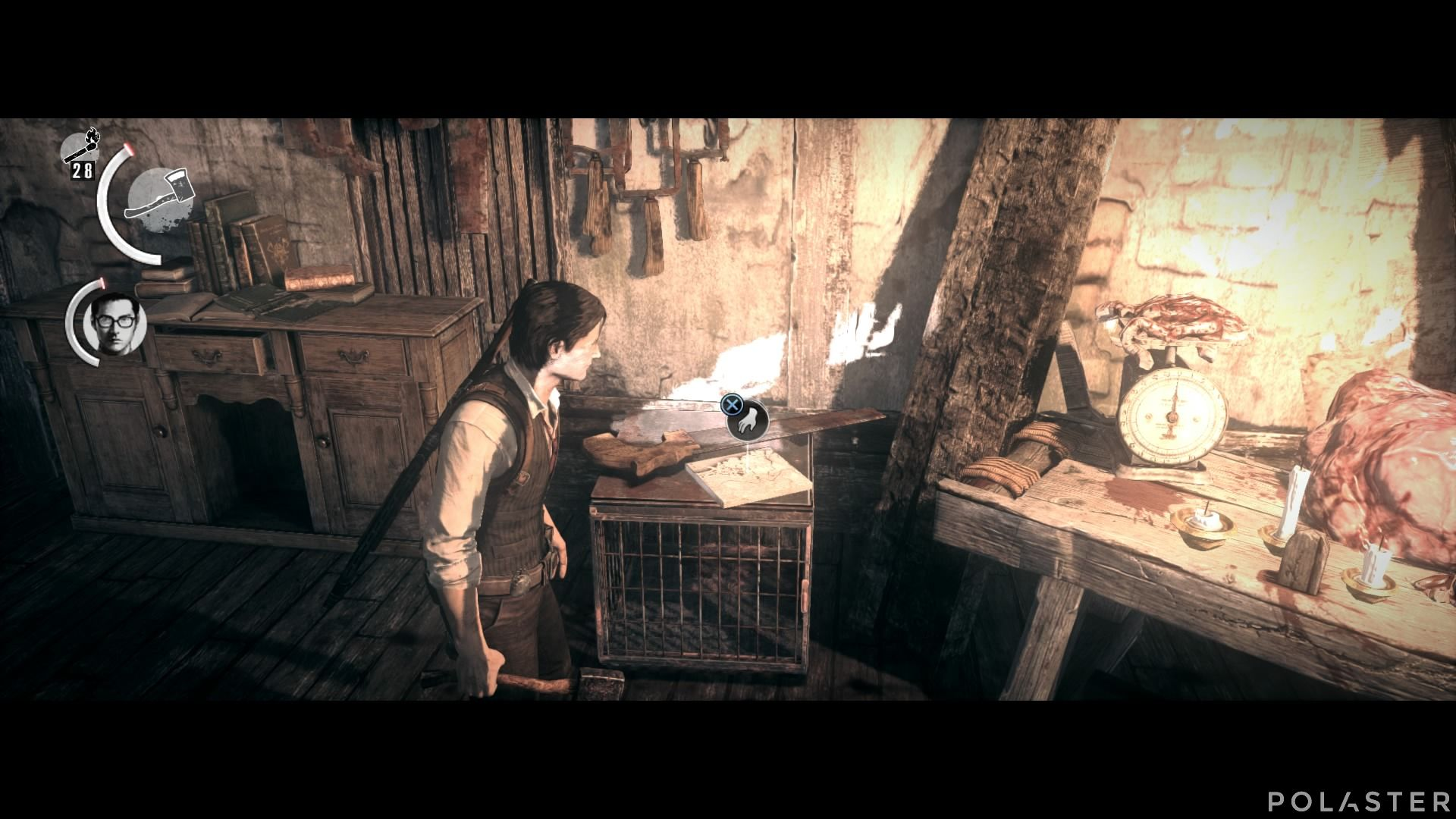 The Evil Within - Coleccionables - Fragmento de mapa 12