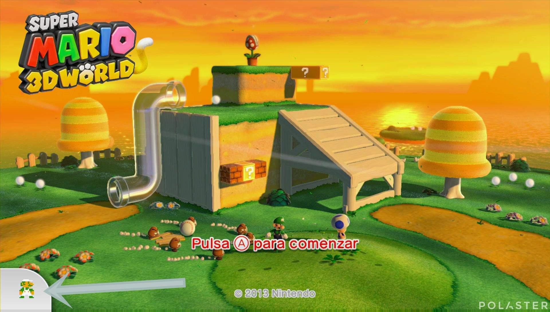 Super Mario 3D World Luigi Bros.