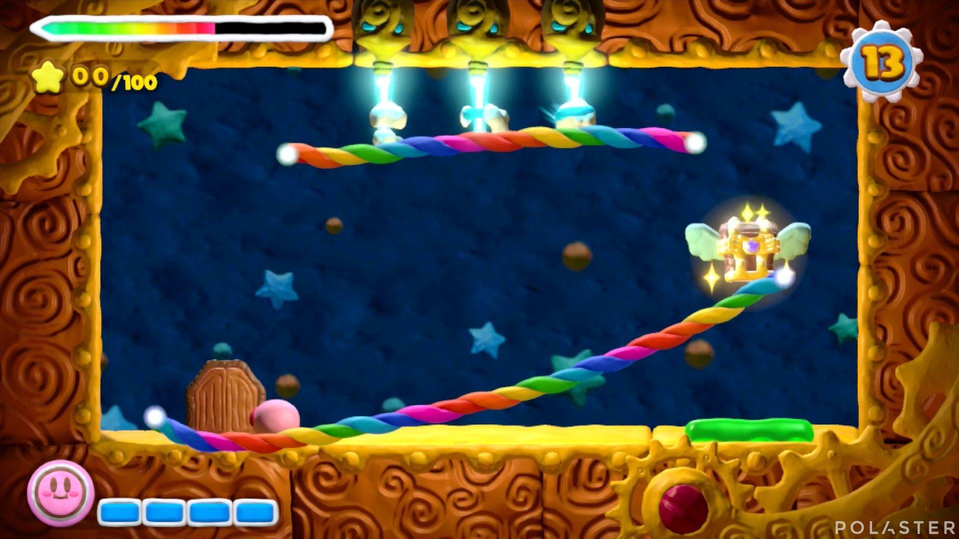 Kirby y el Pincel Arcoíris - Desafío 12 Cofre 2