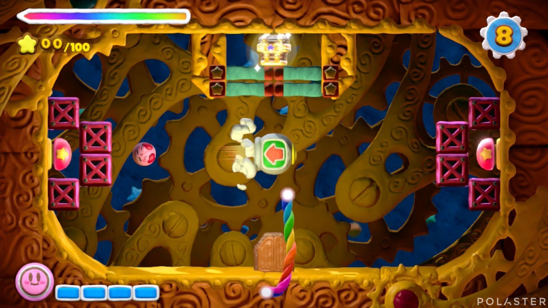Kirby y el Pincel Arcoíris - Desafío 13 Cofre 2