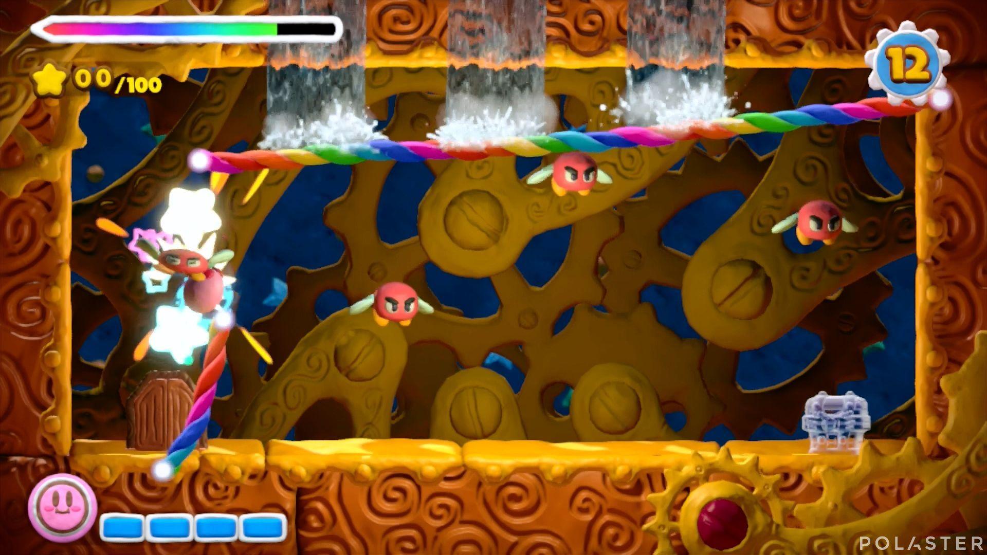 Kirby y el Pincel Arcoíris - Desafío 13 Cofre 3