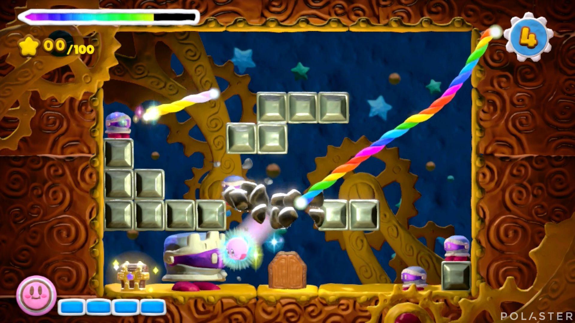 Kirby y el Pincel Arcoíris - Desafío 13 Cofre 4
