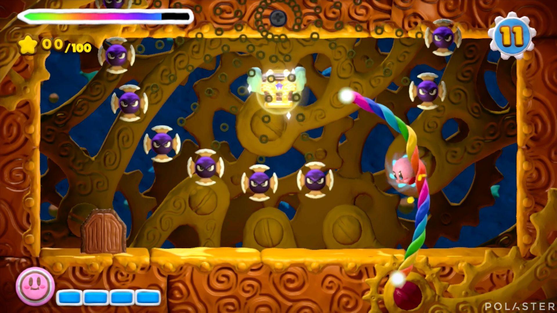 Kirby y el Pincel Arcoíris - Desafío 14 Cofre 2