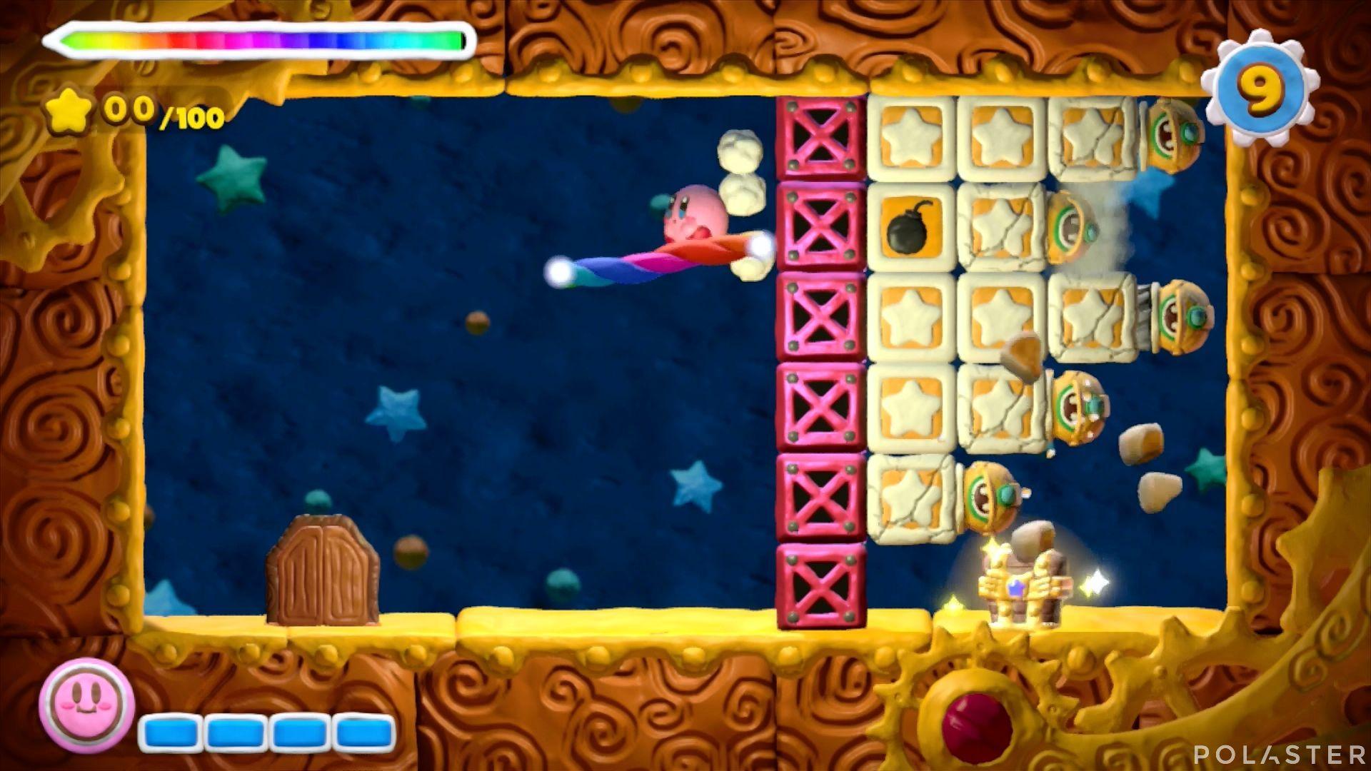 Kirby y el Pincel Arcoíris - Desafío 14 Cofre 3