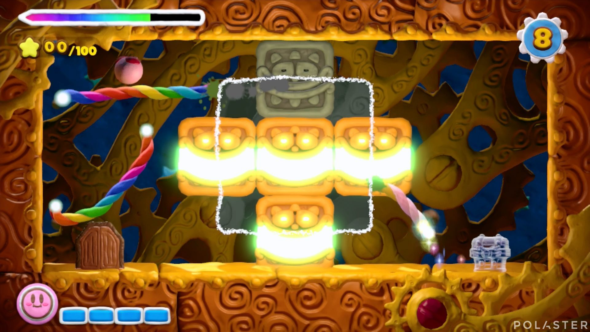 Kirby y el Pincel Arcoíris - Desafío 14 Cofre 4