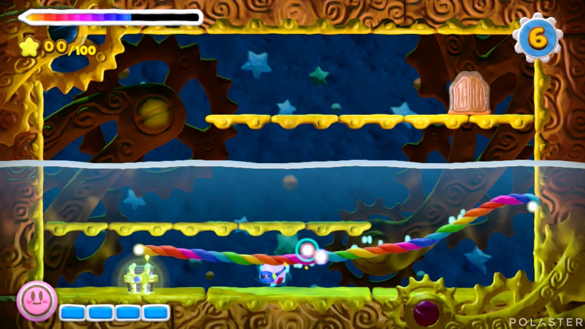 Kirby y el Pincel Arcoíris - Desafío 15 Cofre 1