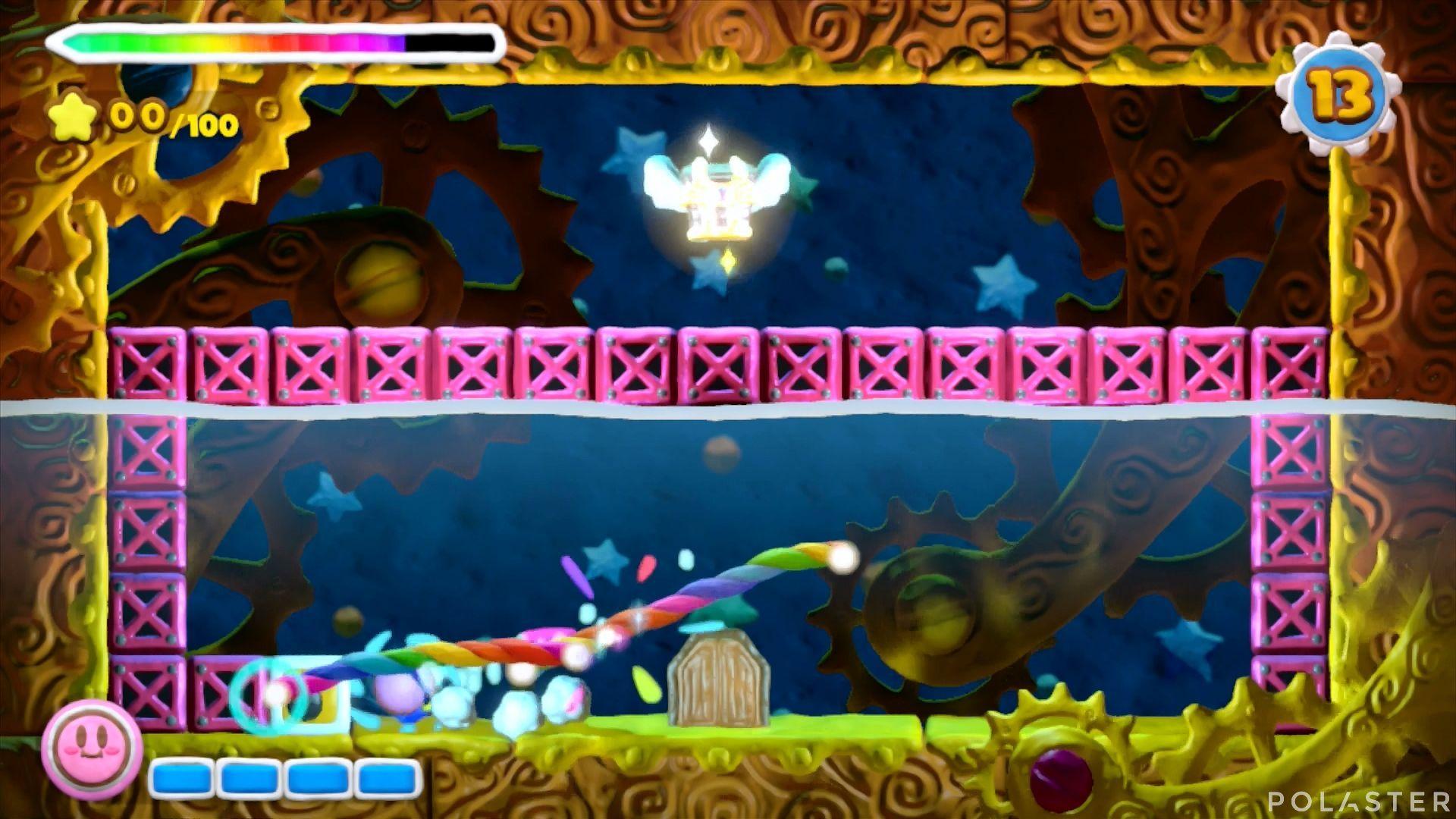 Kirby y el Pincel Arcoíris - Desafío 15 Cofre 2