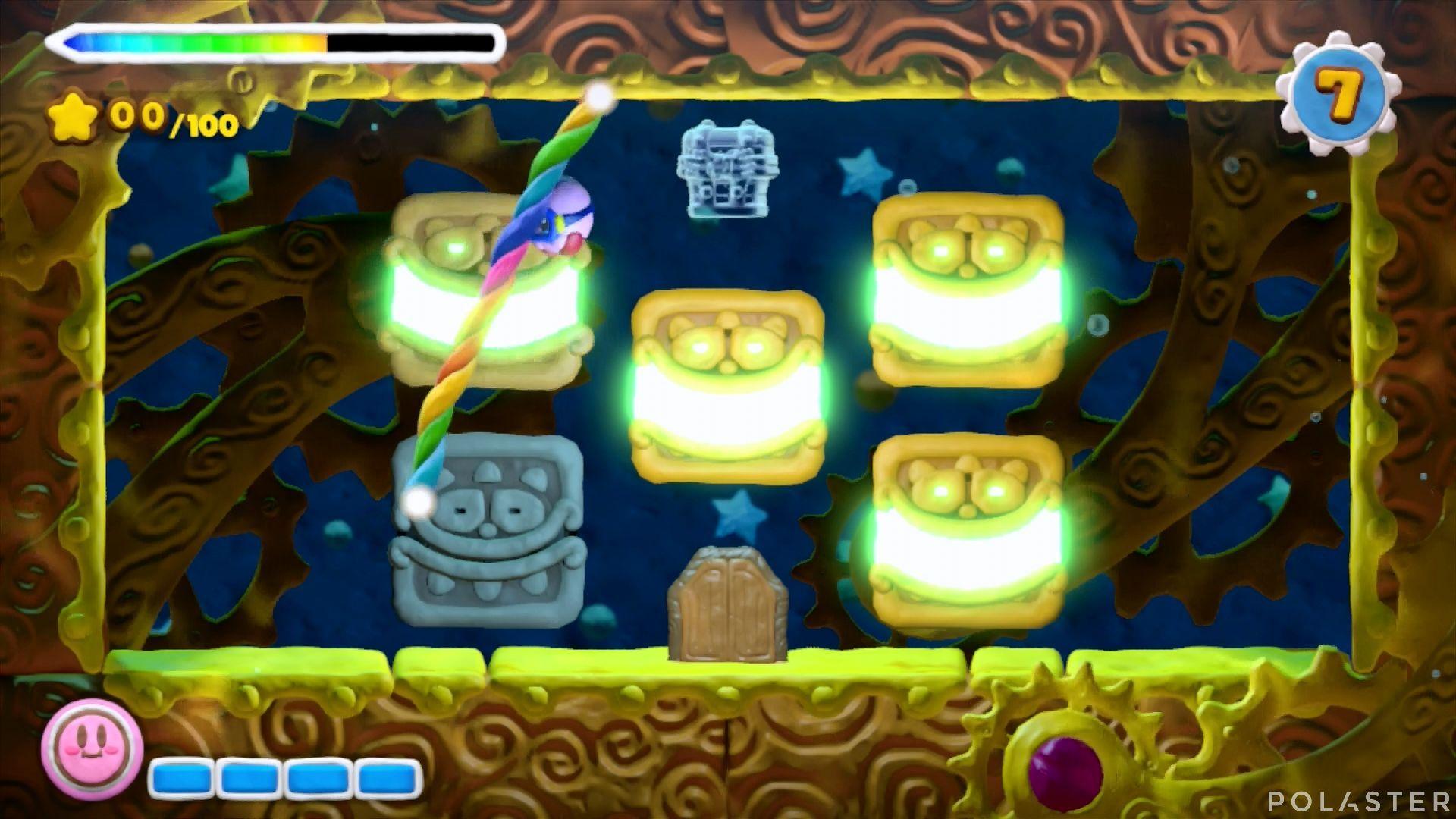 Kirby y el Pincel Arcoíris - Desafío 15 Cofre 4