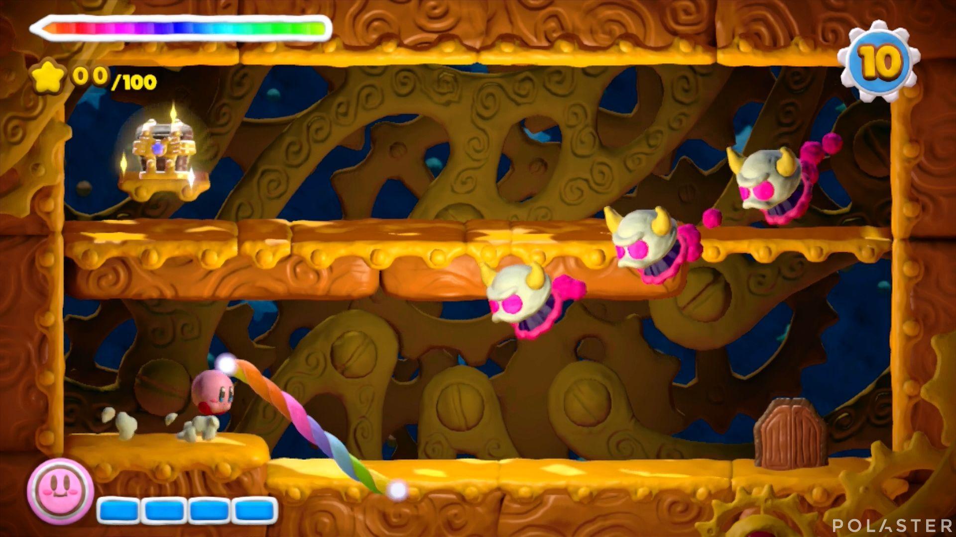 Kirby y el Pincel Arcoíris - Desafío 19: Cofre 2