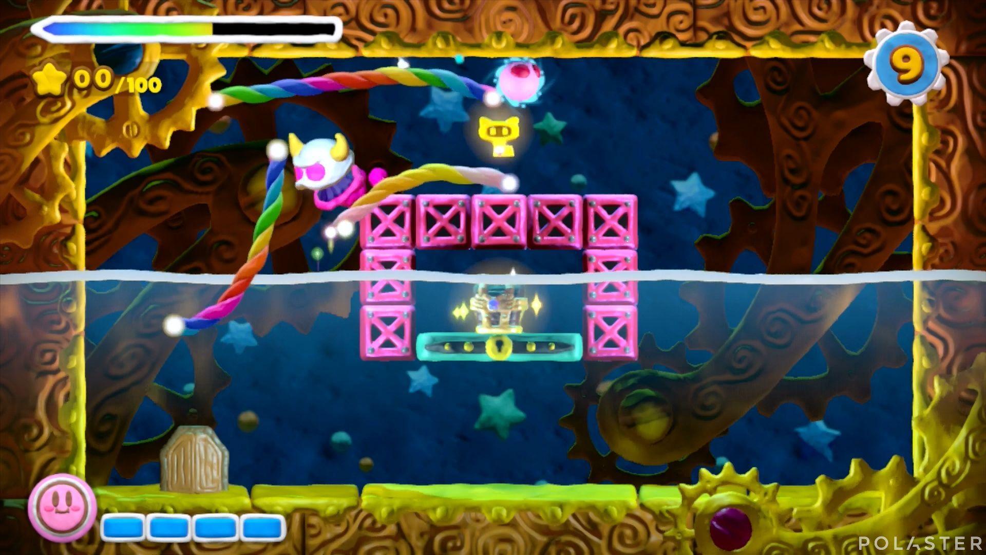 Kirby y el Pincel Arcoíris - Desafío 19: Cofre 4