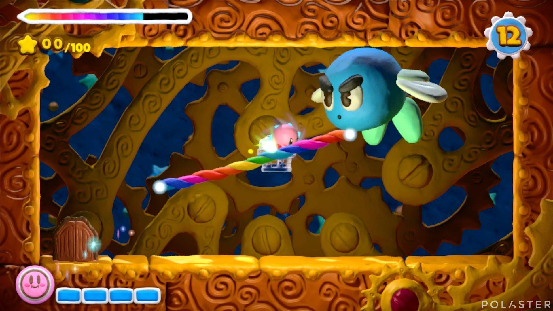 Kirby y el Pincel Arcoíris - Desafío 20: Cofre 1