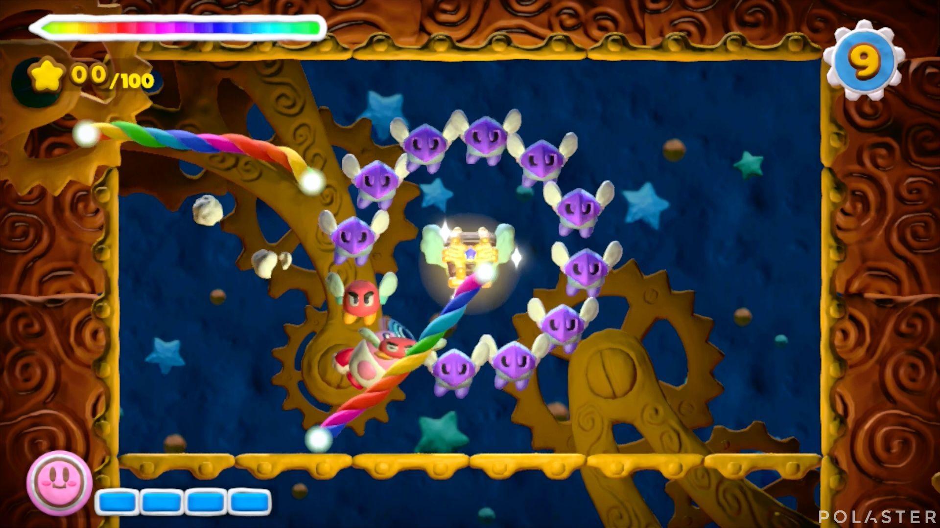 Kirby y el Pincel Arcoíris - Desafío 20: Cofre 4
