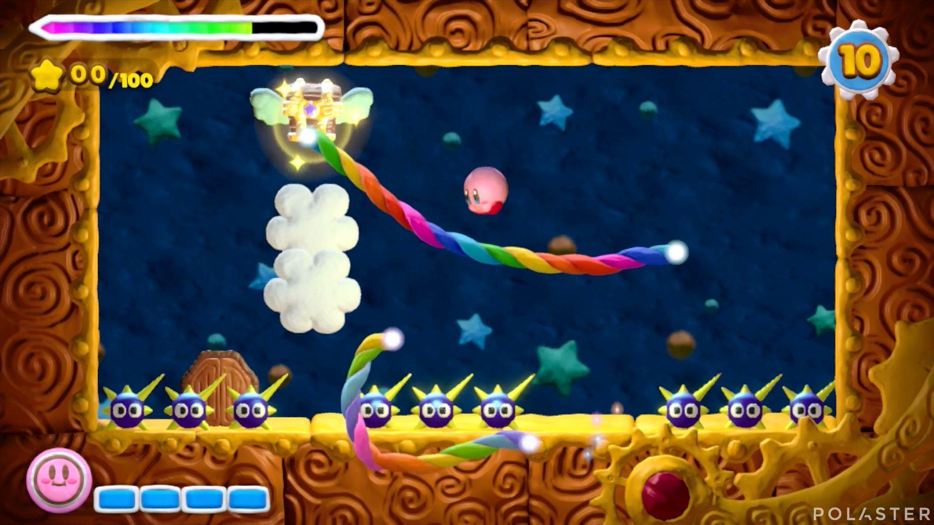 Kirby y el Pincel Arcoíris - Desafío 22: Cofre 1