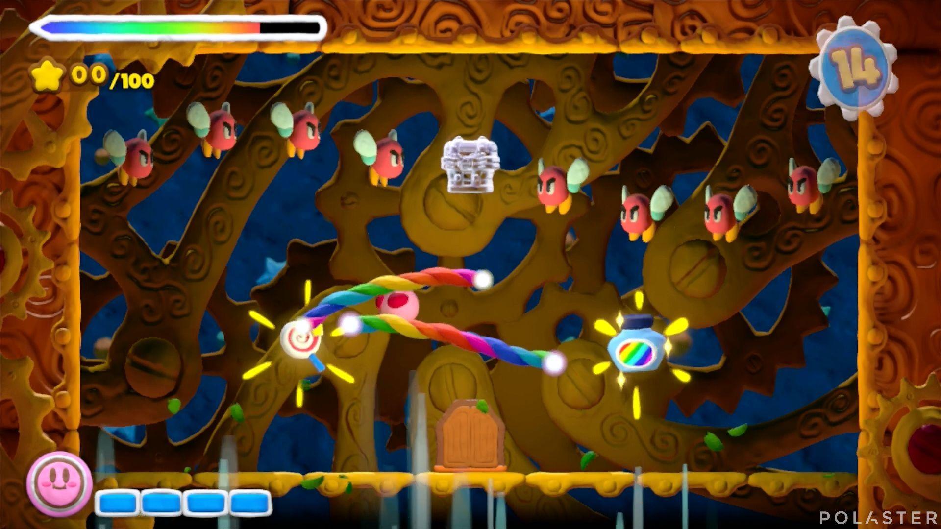 Kirby y el Pincel Arcoíris - Desafío 22: Cofre 4