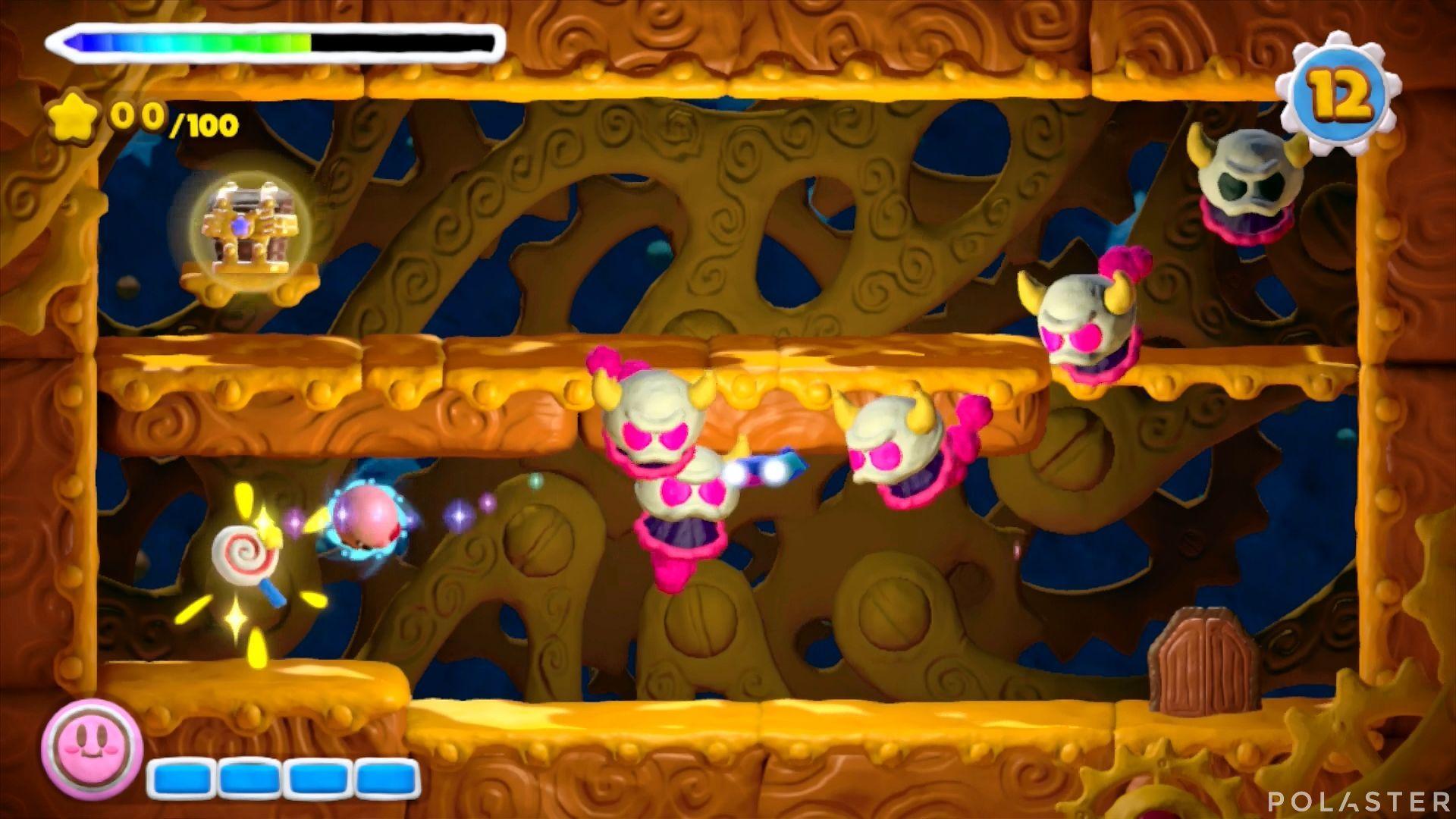 Kirby y el Pincel Arcoíris - Desafío 23: Cofre 12