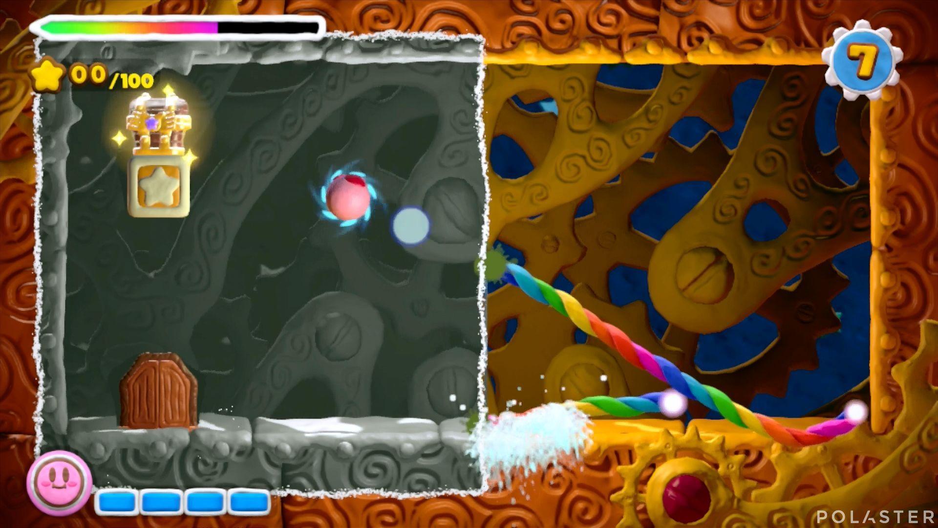Kirby y el Pincel Arcoíris - Desafío 23: Cofre 3