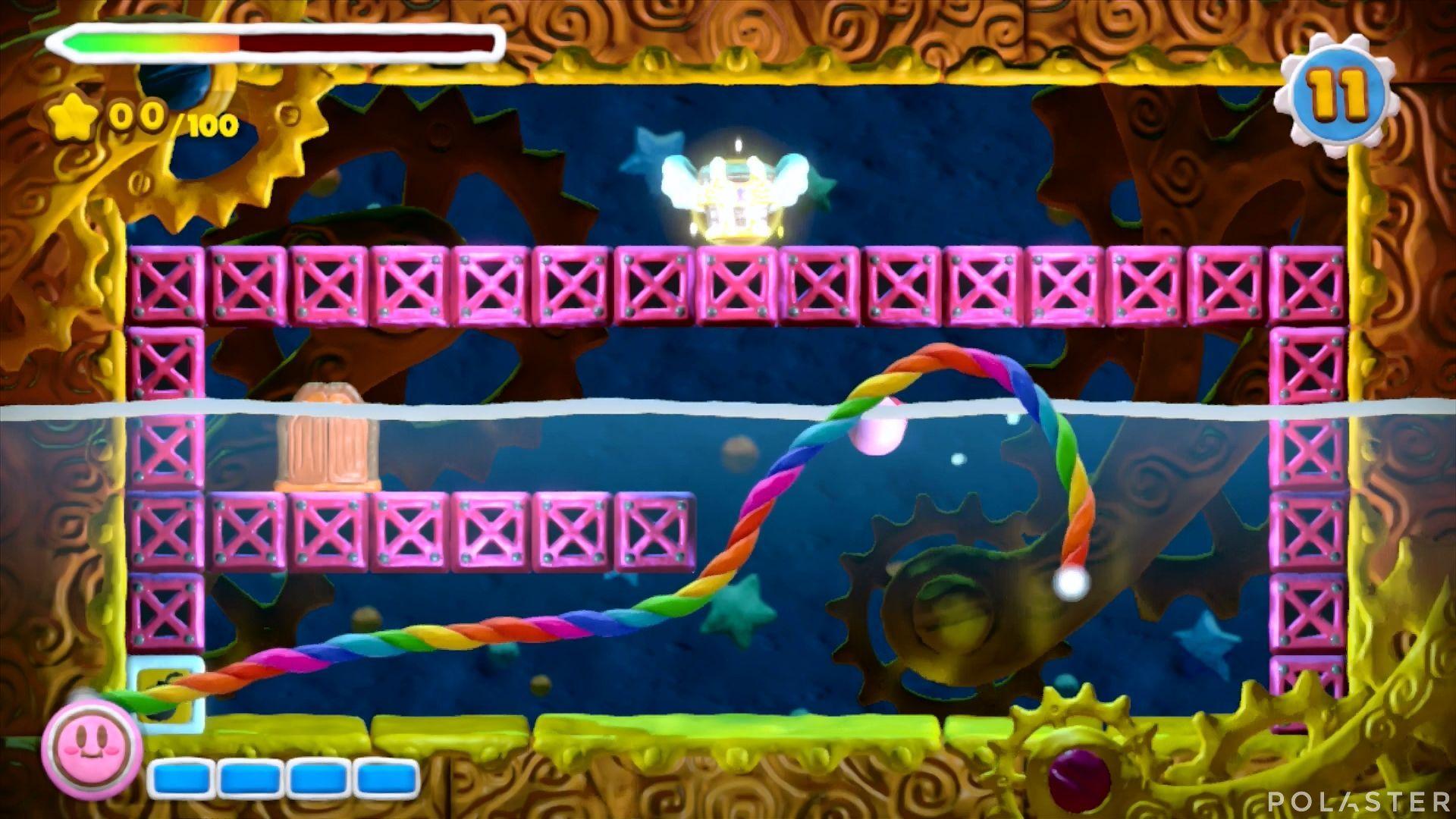 Kirby y el Pincel Arcoíris - Desafío 23: Cofre 4