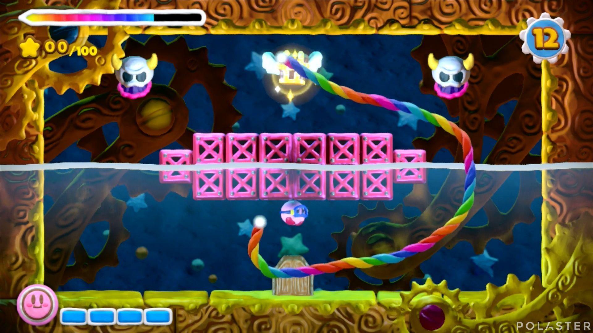 Kirby y el Pincel Arcoíris - Desafío 23: Cofre 6