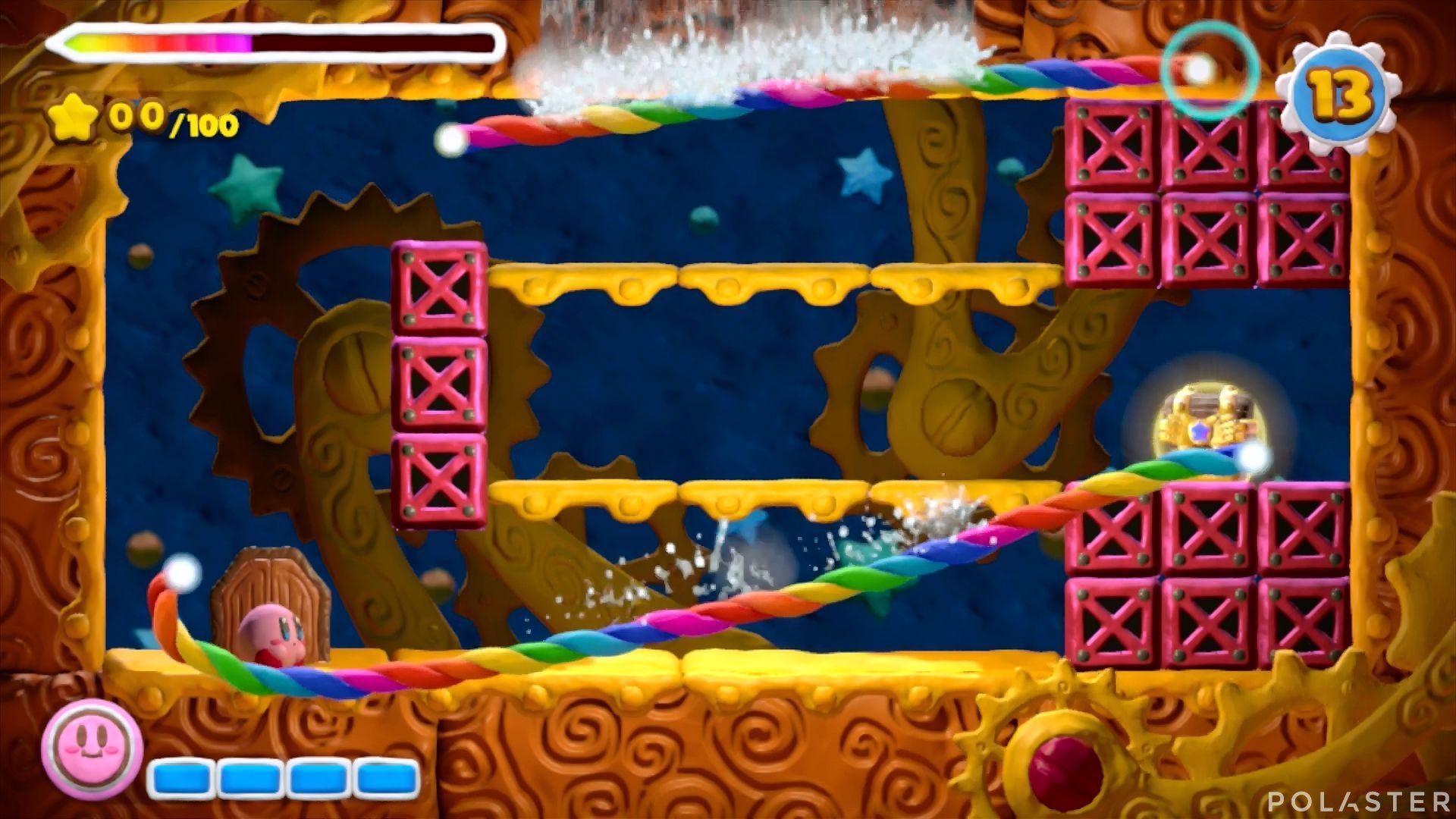 Kirby y el Pincel Arcoíris - Desafío 23: Cofre 7