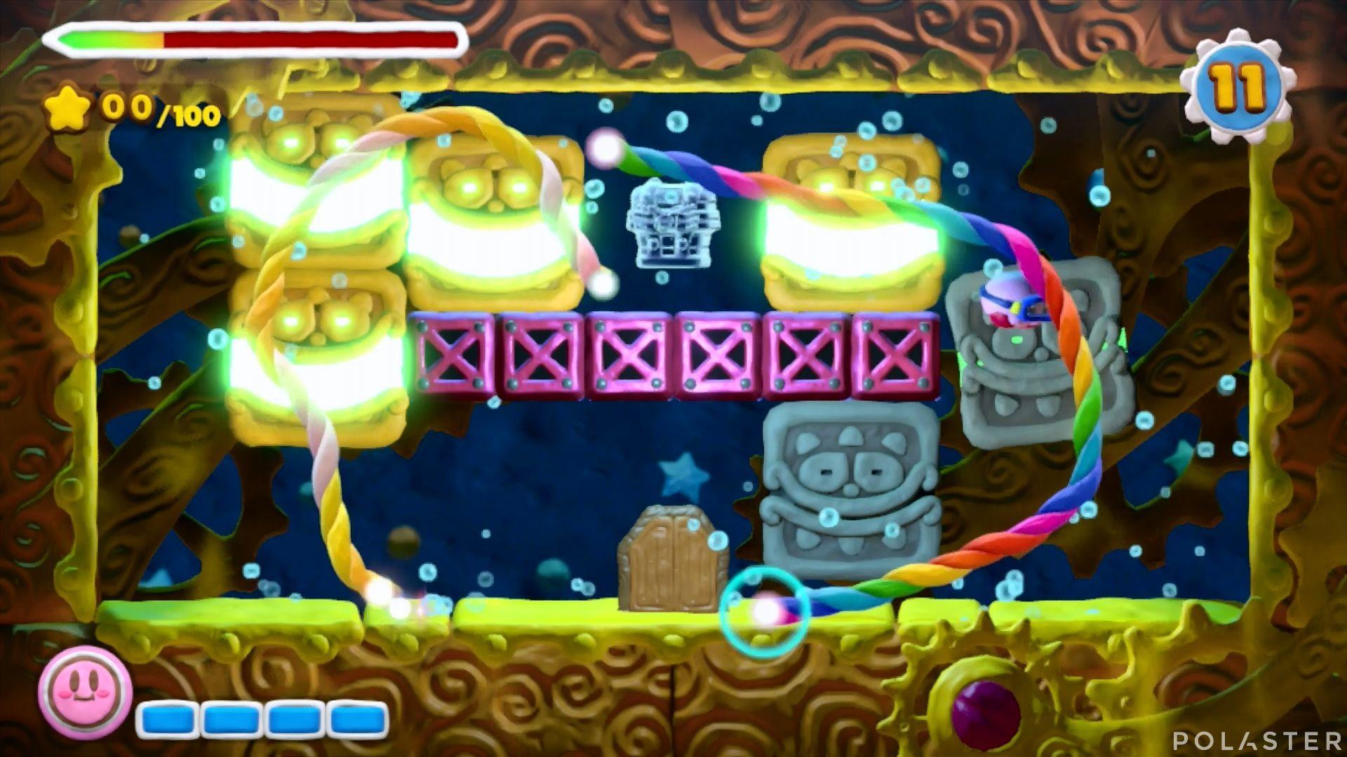 Kirby y el Pincel Arcoíris - Desafío 23: Cofre 9