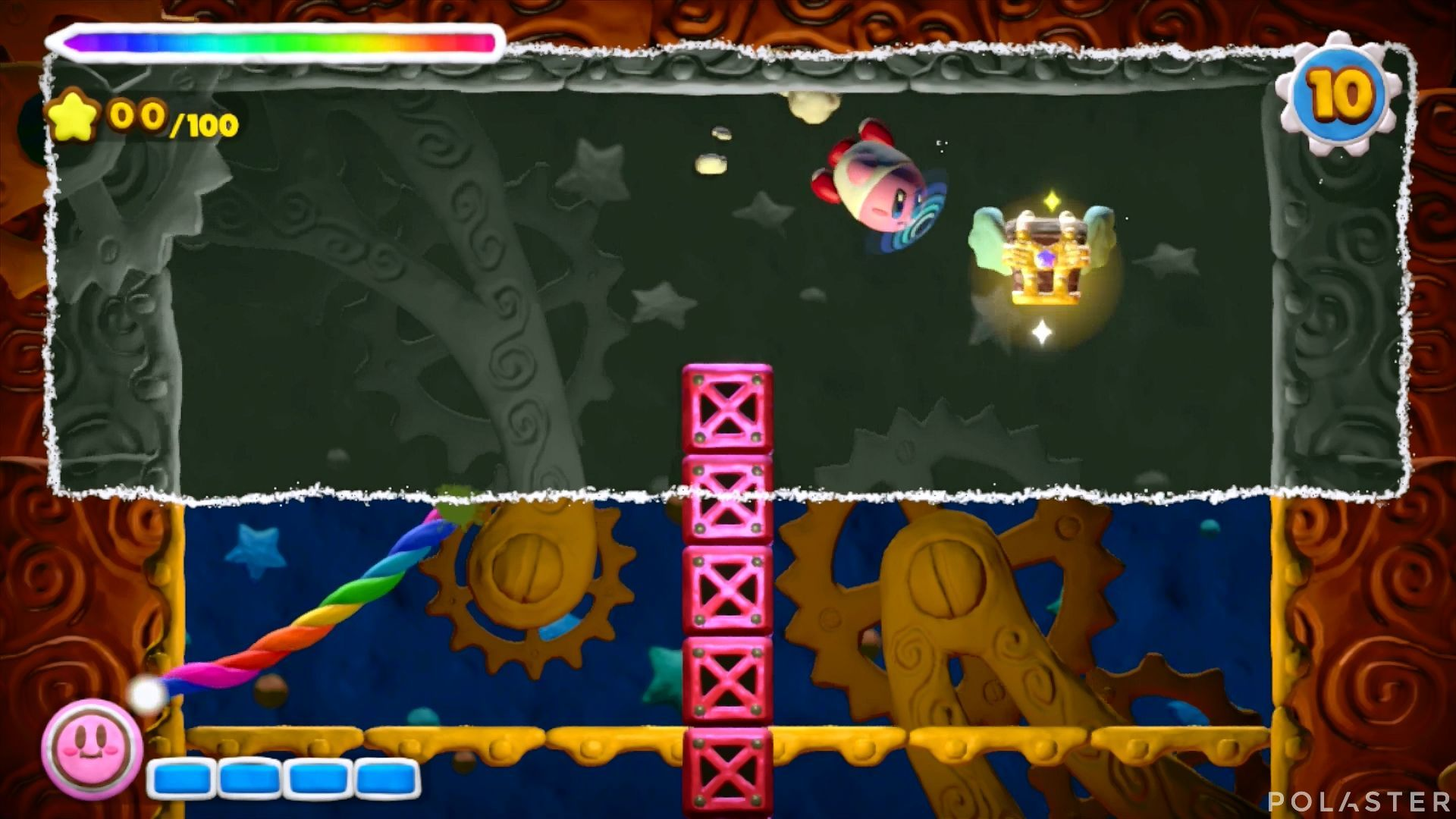 Kirby y el Pincel Arcoíris - Desafío 24: Cofre 10